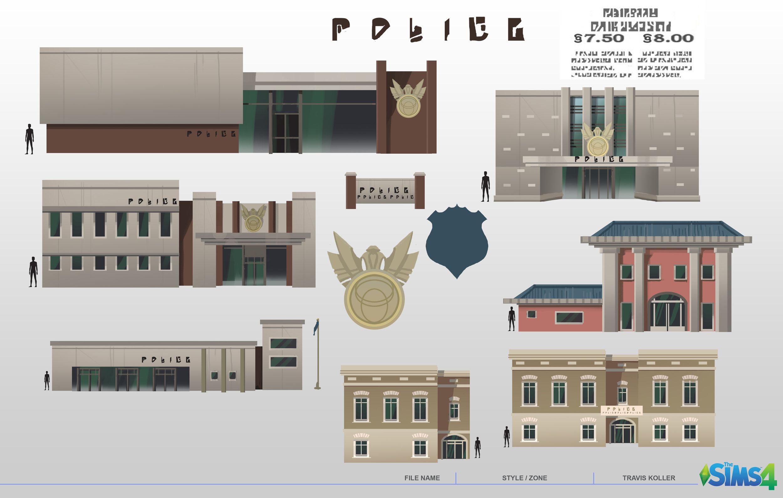 GP01 Police Station Exploration