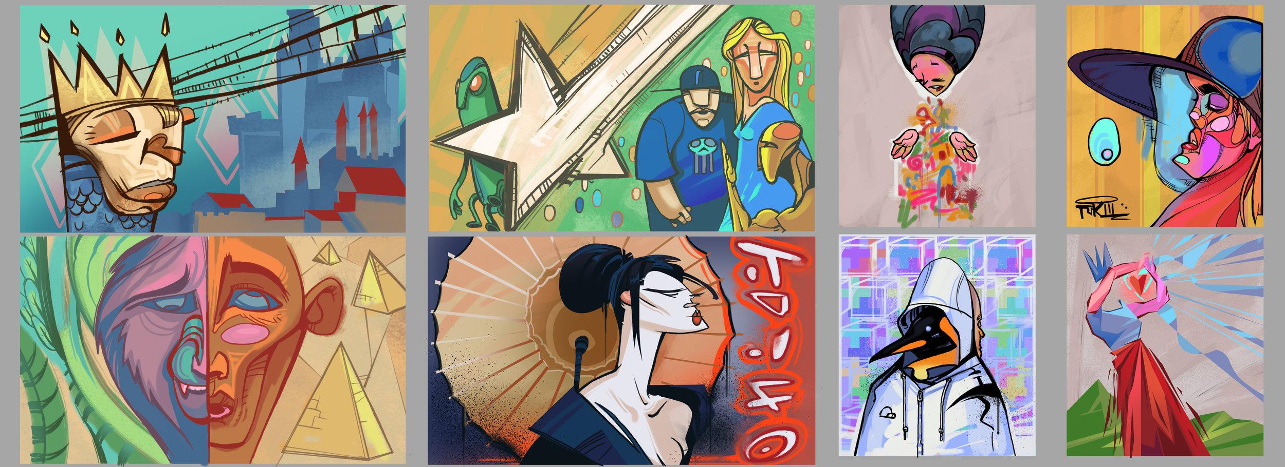 EP03 Wall Murals
