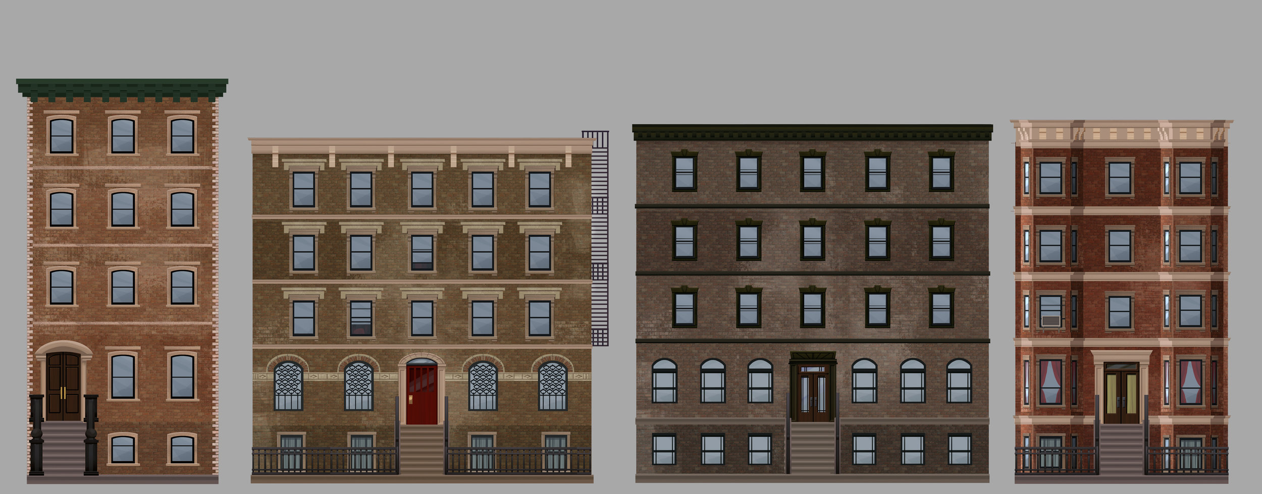 EP03 Building Ideas- Brownstones