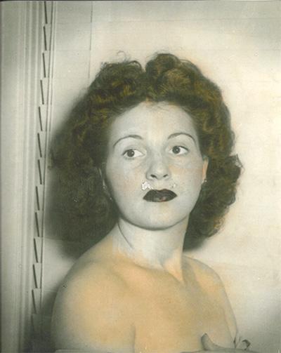 """Catherine """"Caza"""" Di Prisco. 50s Brooklyn."""