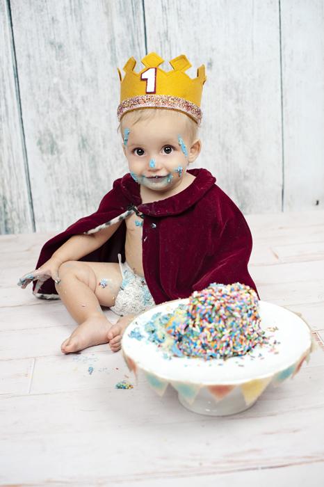 Cake Smash Photography San Diego
