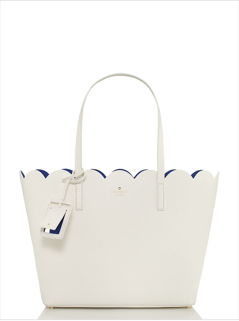 Kate Spade Lily Avenue Carrigan Scalloped Tote