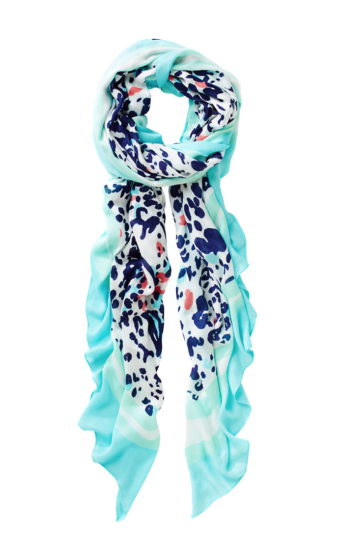 Lilly Pulitzer Lillian Oversized Scarf in Get Spotted