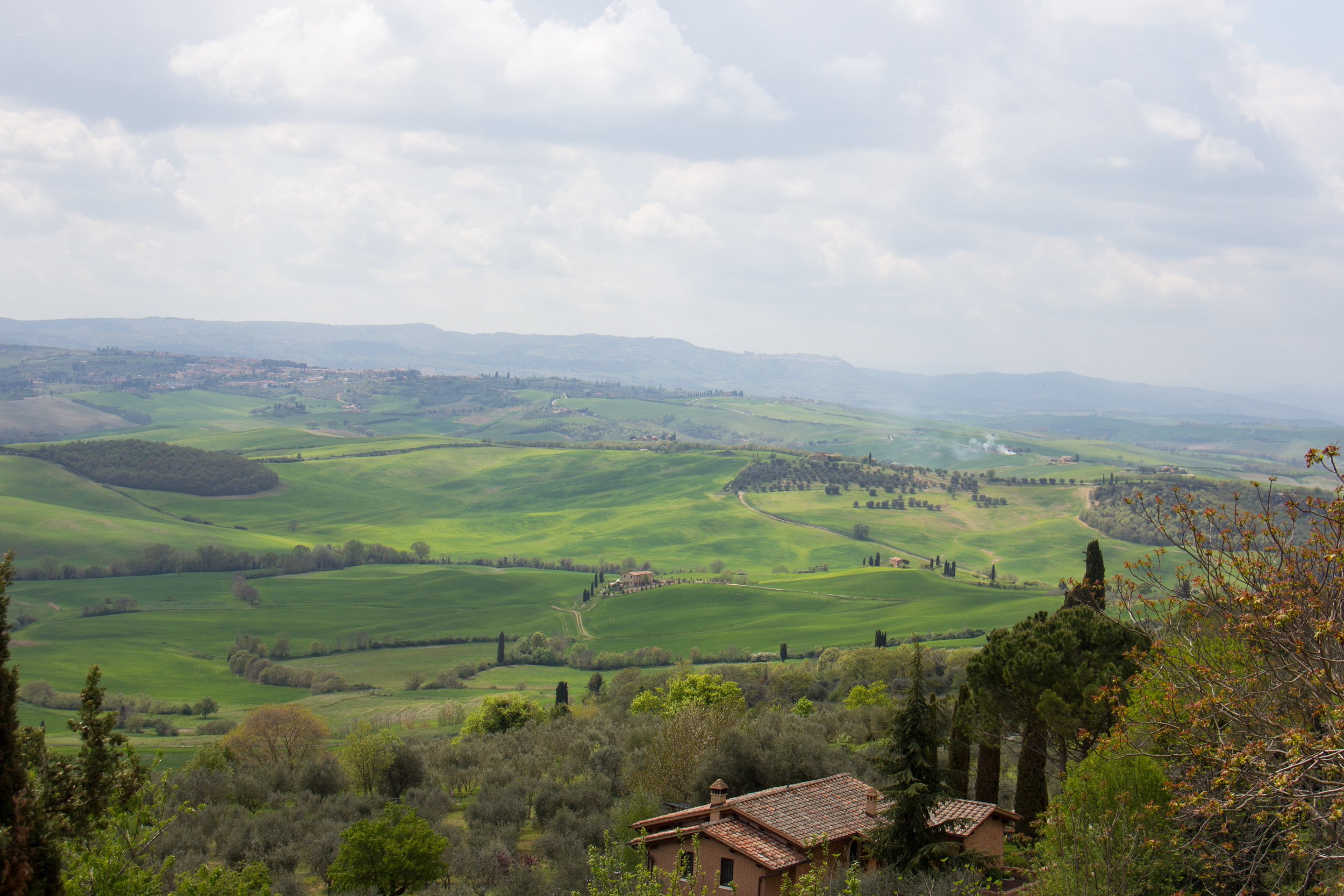 .....and Pienza!