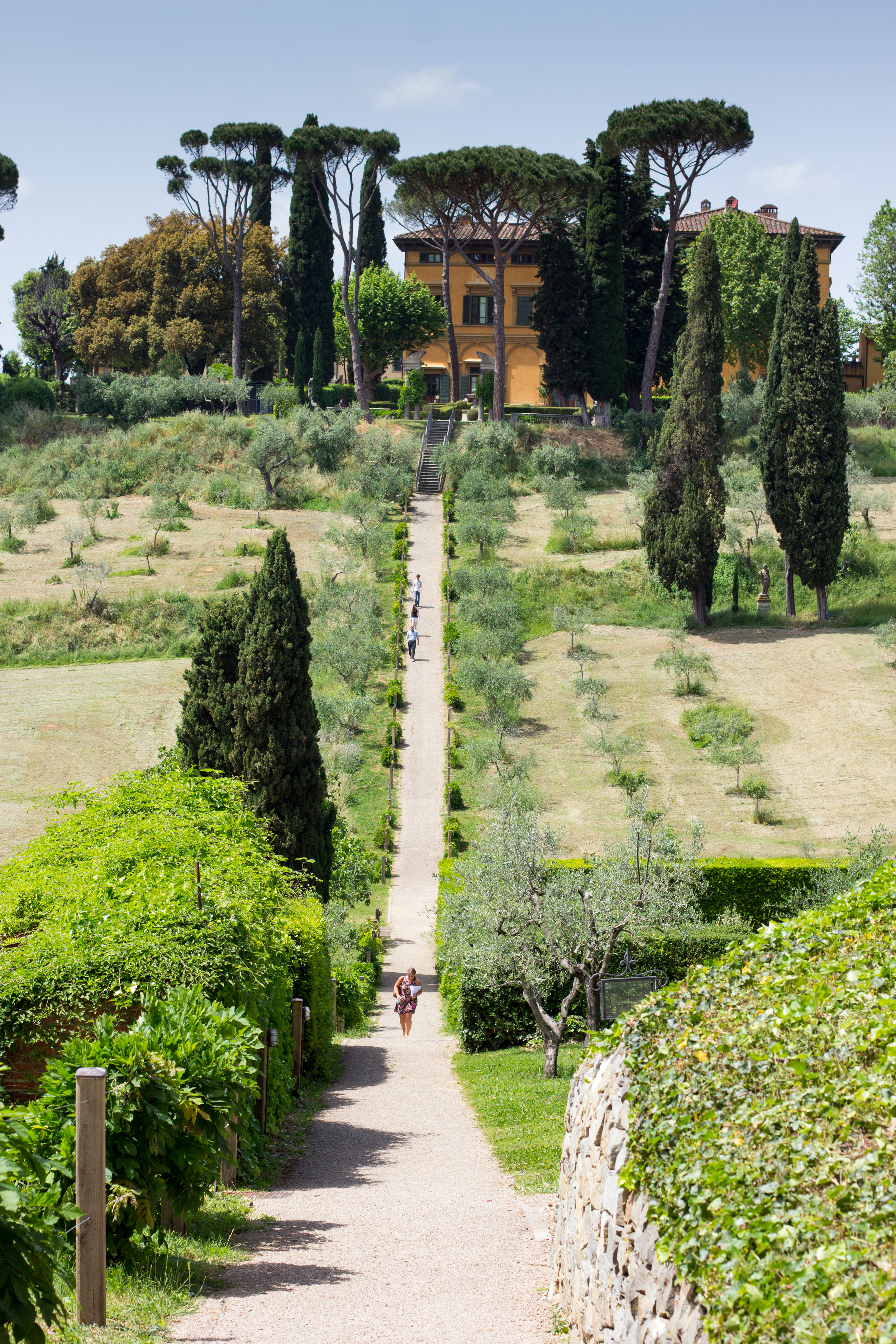 ...and the  the  NYU Florence campus at La Pietra!