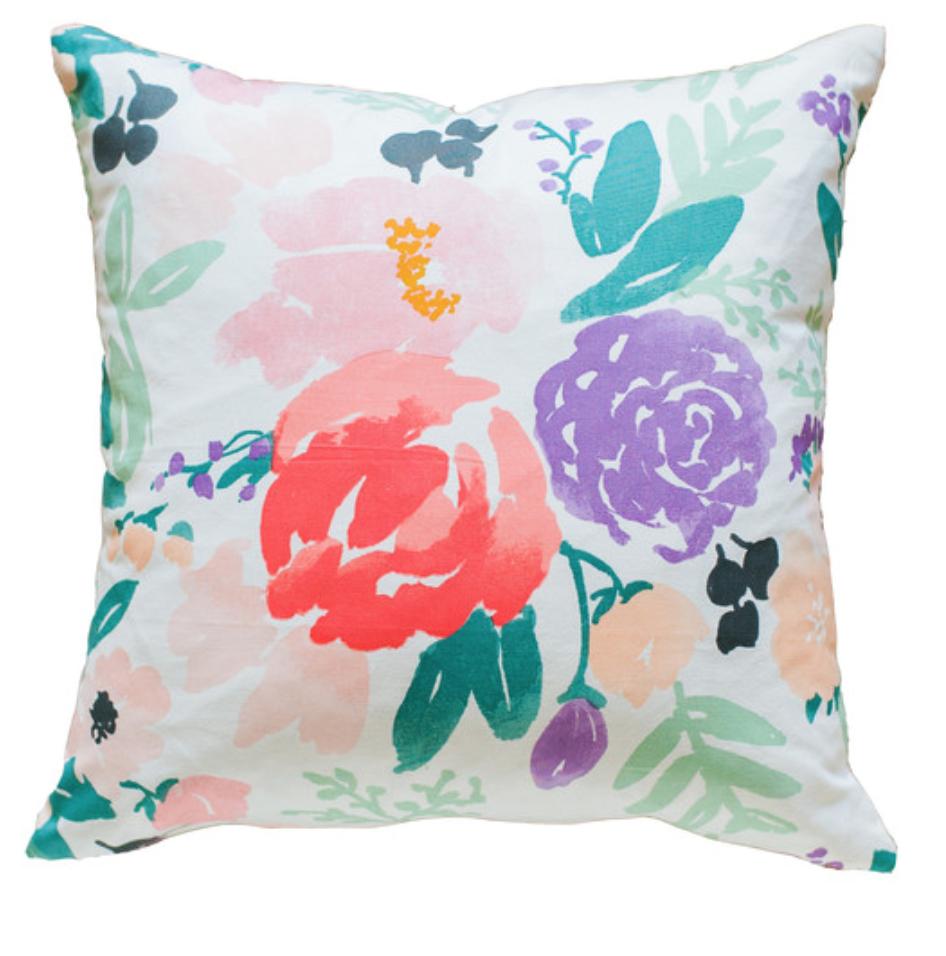 Caitlin Wilson Textiles Bridge City Blooms Pillow