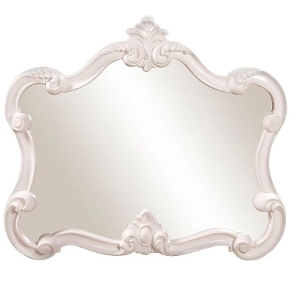 Veruca White Wall Mirror