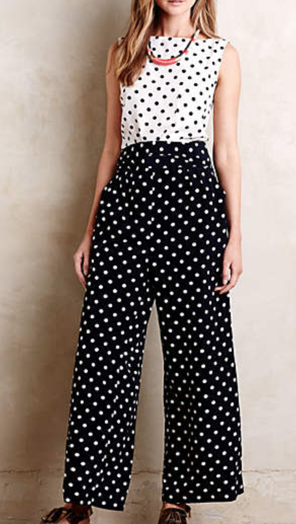 Domino Dot Jumpsuit