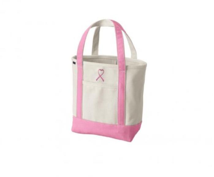 Medium Open Top Natural Canvas Tote Bag