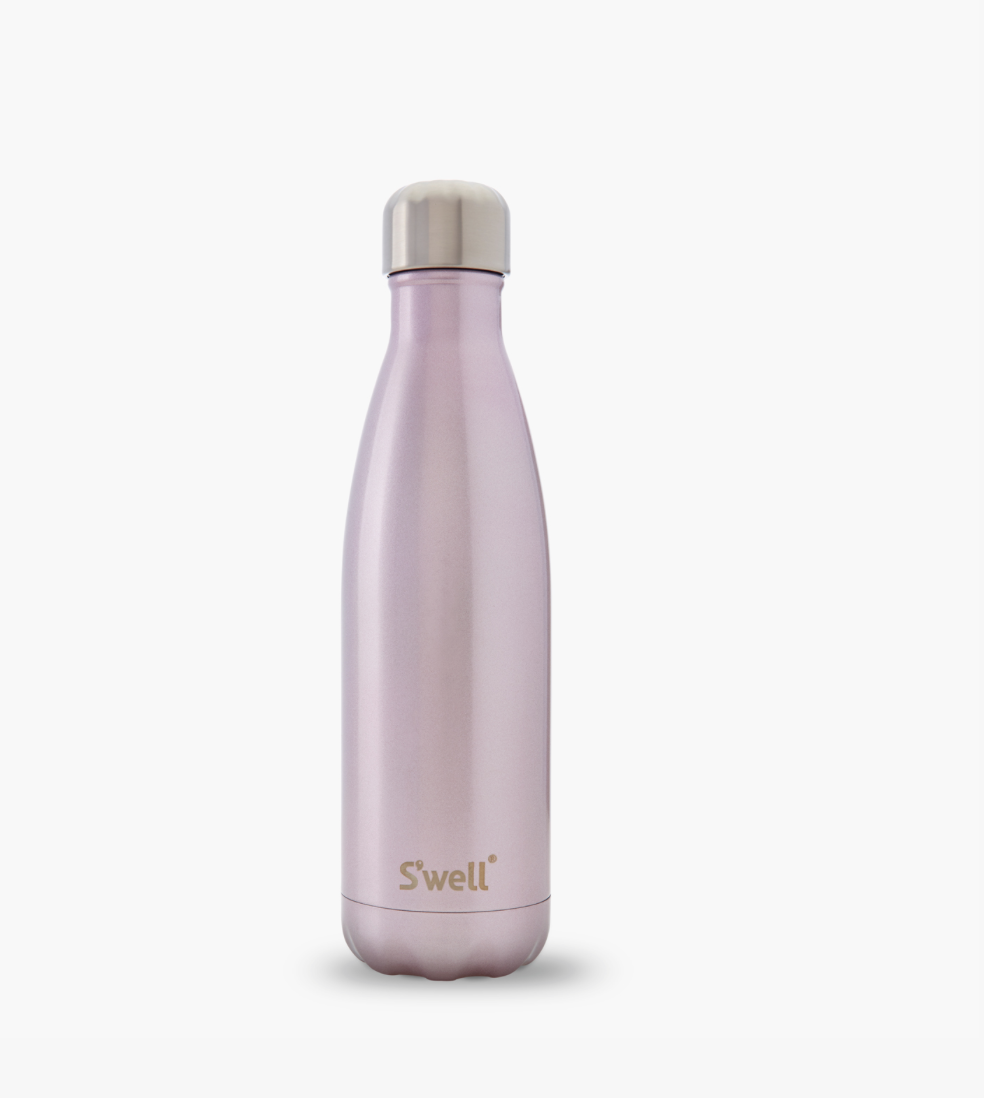 S'well Pink Champagne Water Bottle