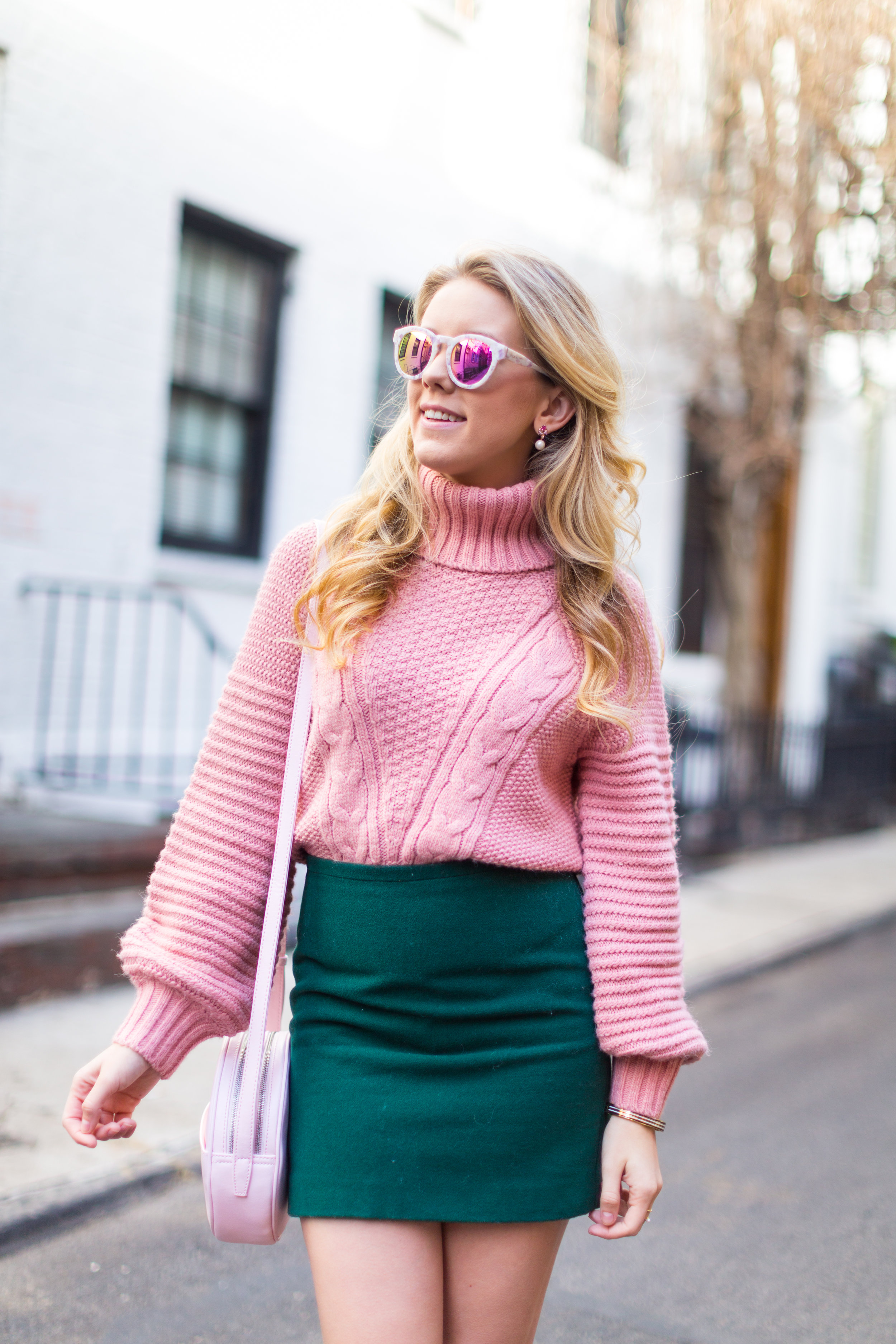 West Village Pink and Green Spring Outfit-6.jpg
