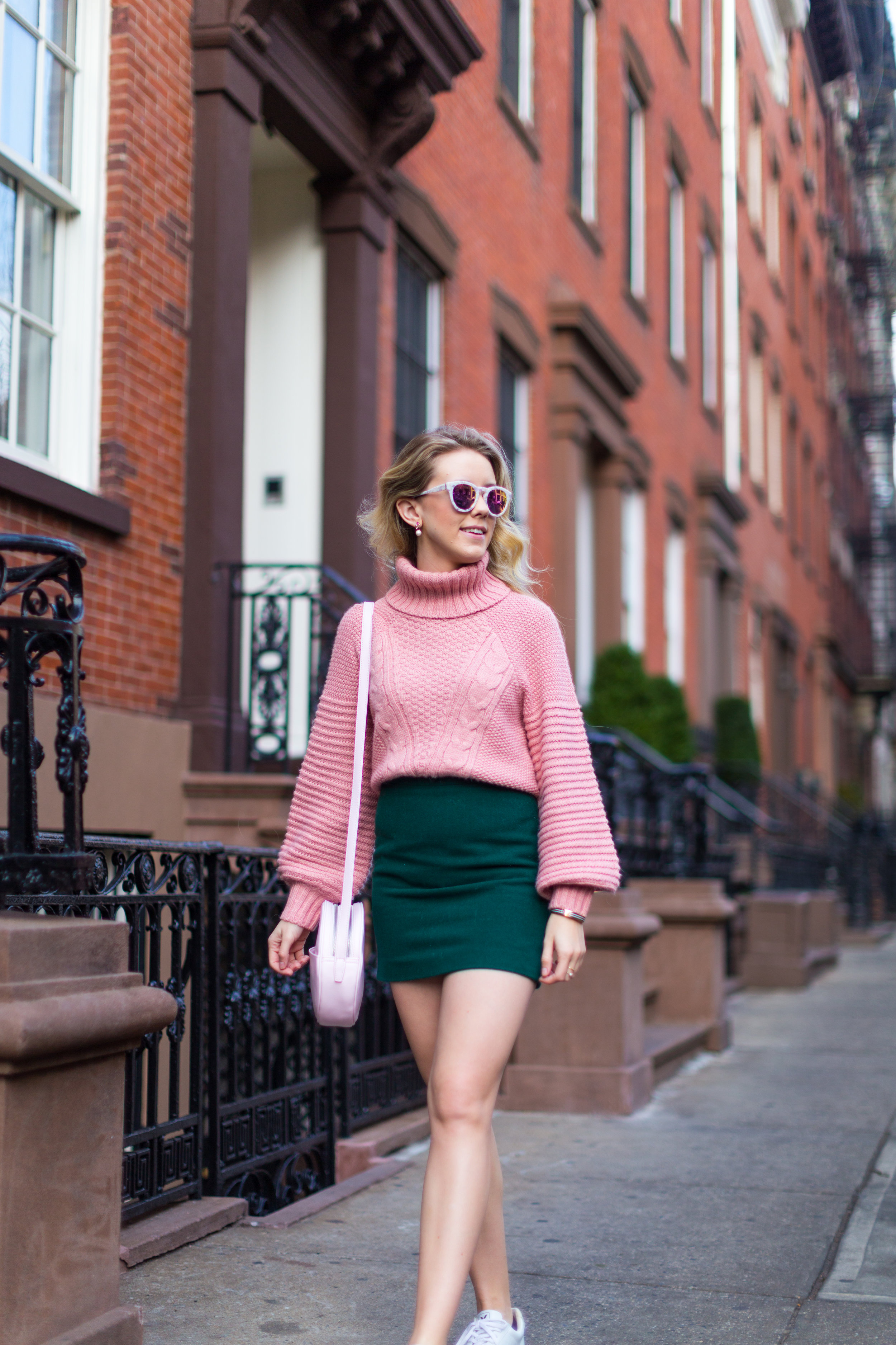 West Village Pink and Green Spring Outfit-8.jpg