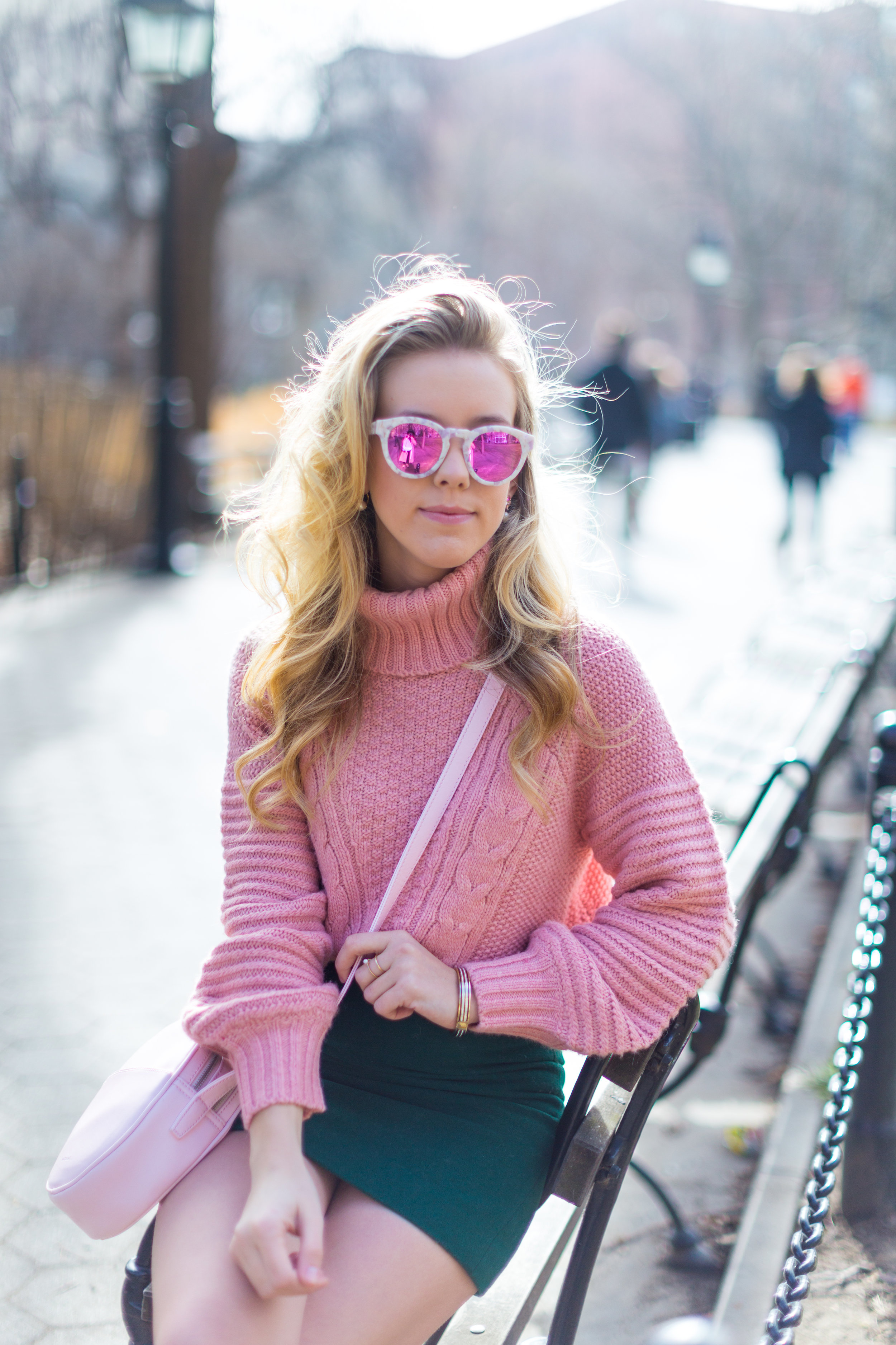 West Village Pink and Green Spring Outfit-10.jpg
