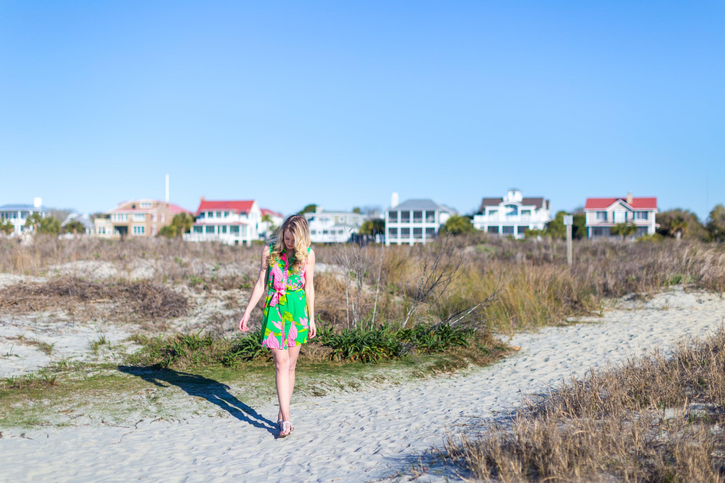 Charleston Sullivans Island Green Spring Dress_.jpg
