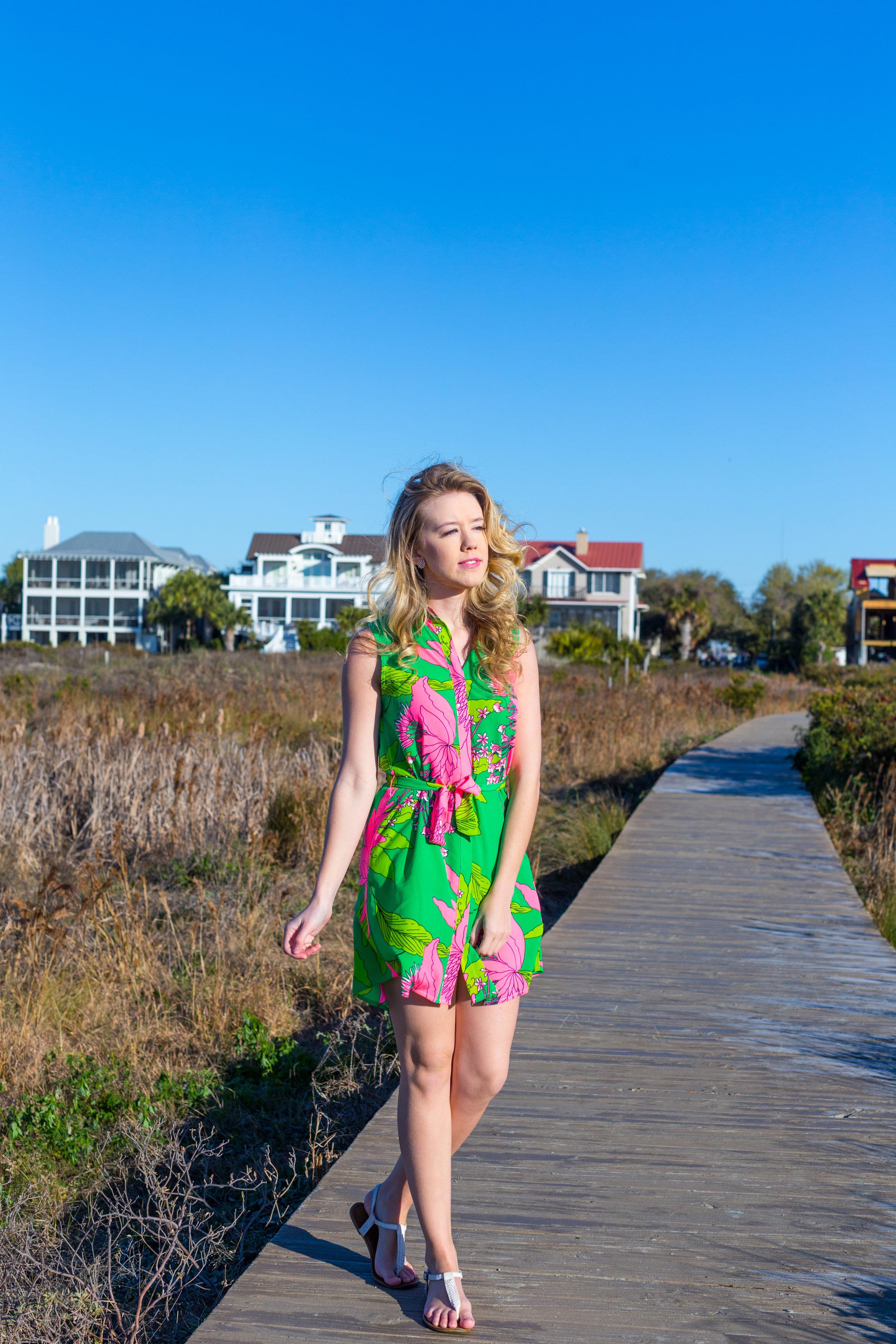 Charleston Sullivans Island Green Spring Dress_-3.jpg