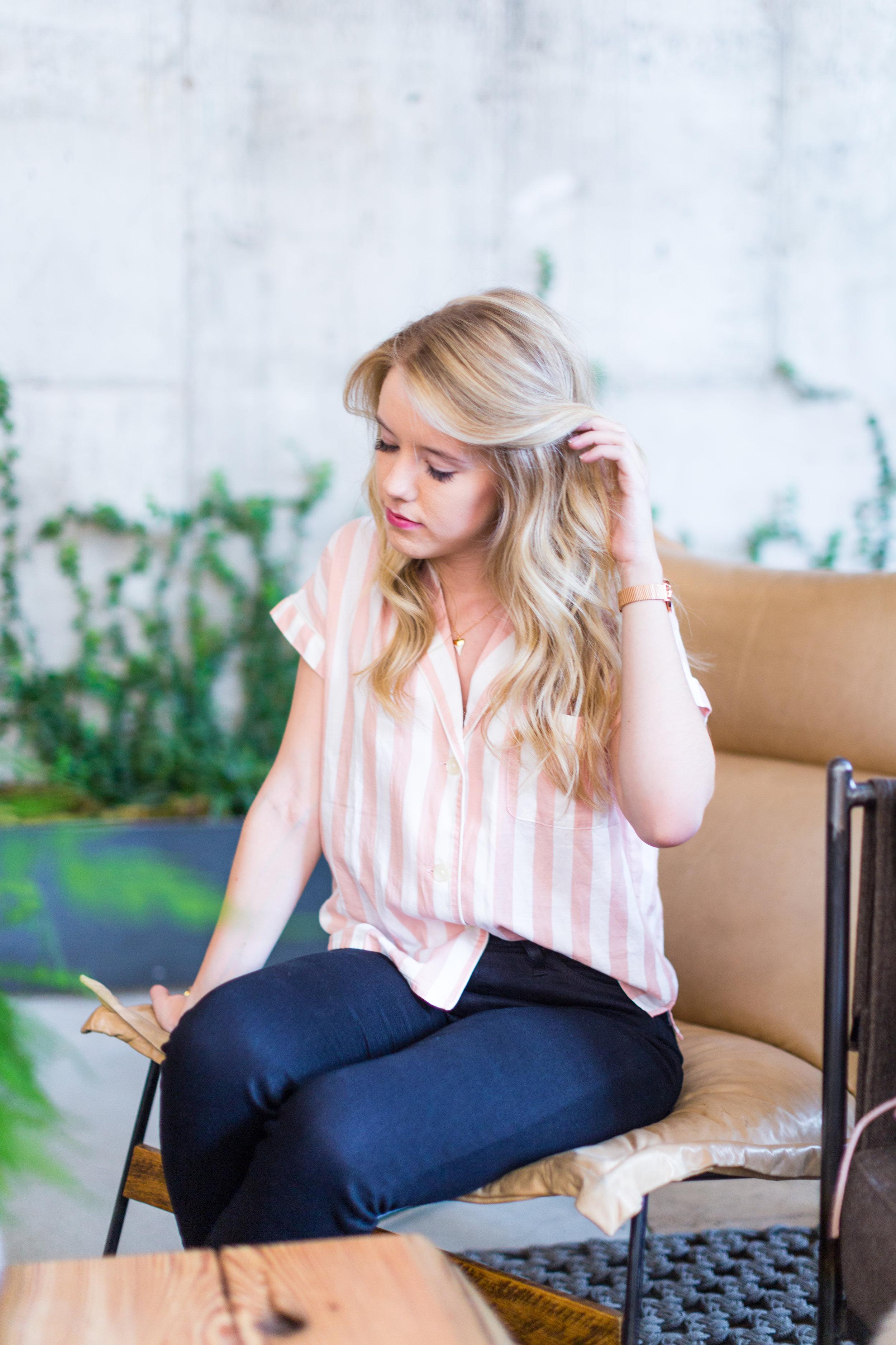 Brookyln Striped Shirt Spring Outfit-3.jpg