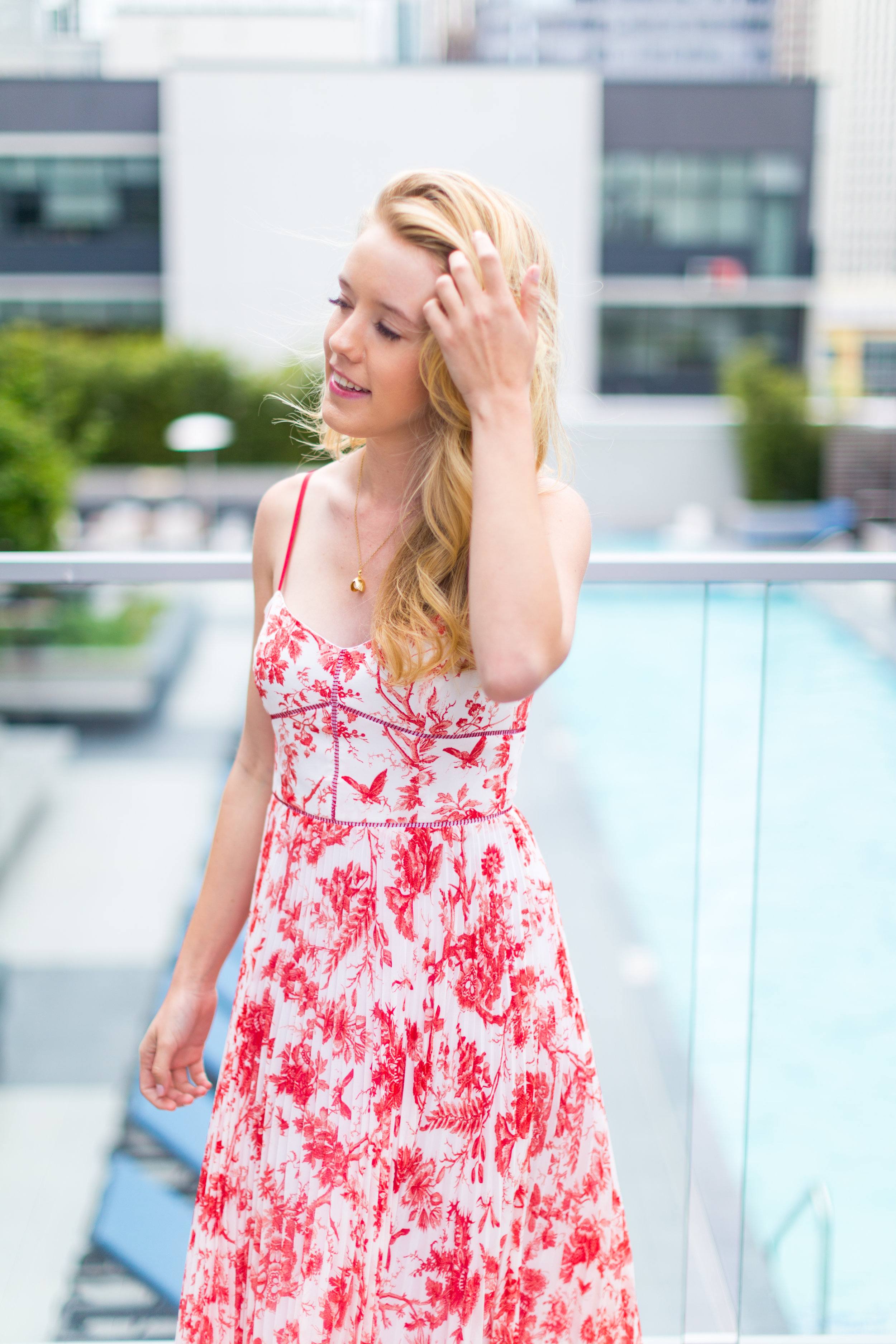 Red Pattern Dress Spring in San Francisco-9.jpg