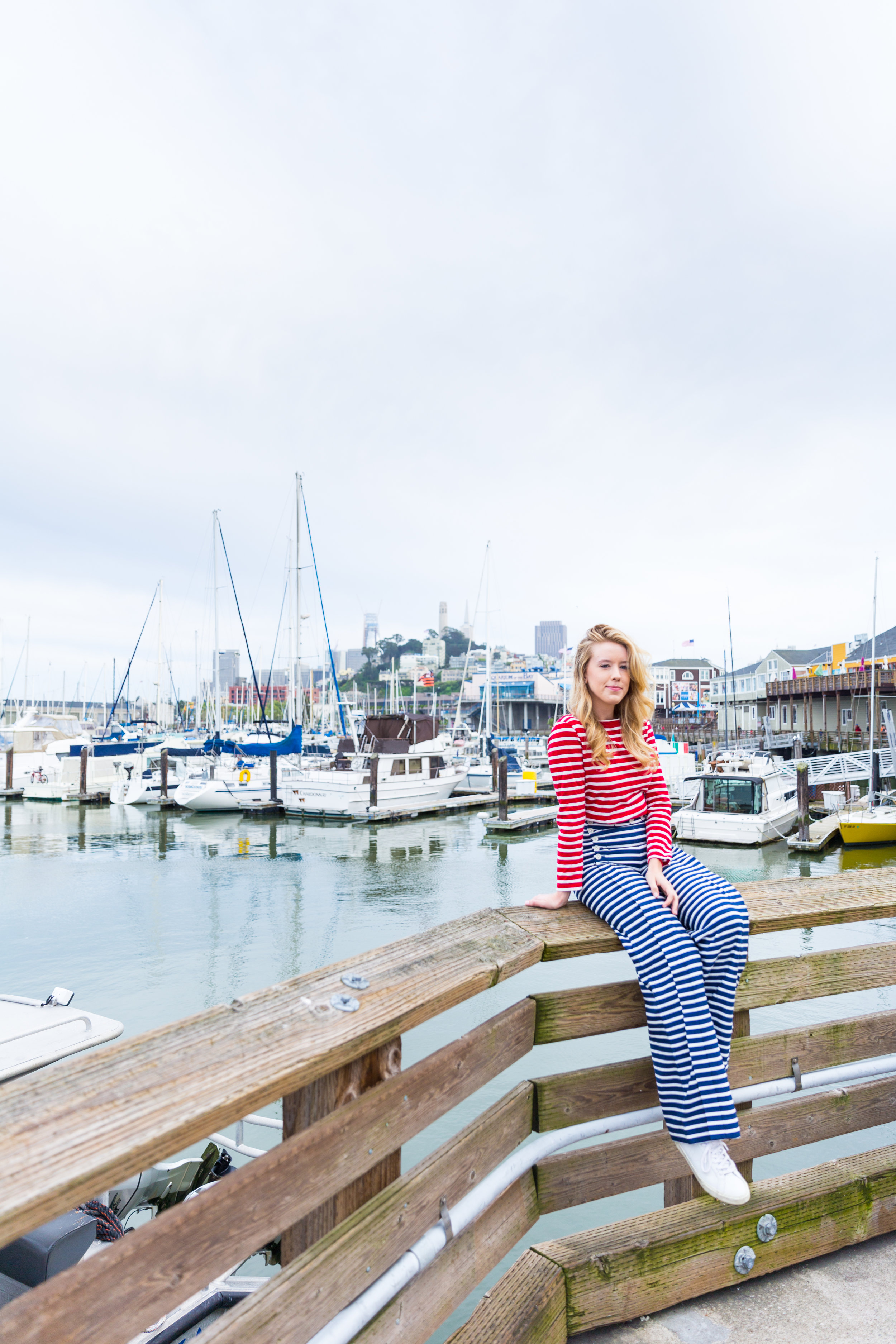 Striped Nautical Sunset Sail Outfit San Francisco-2.jpg