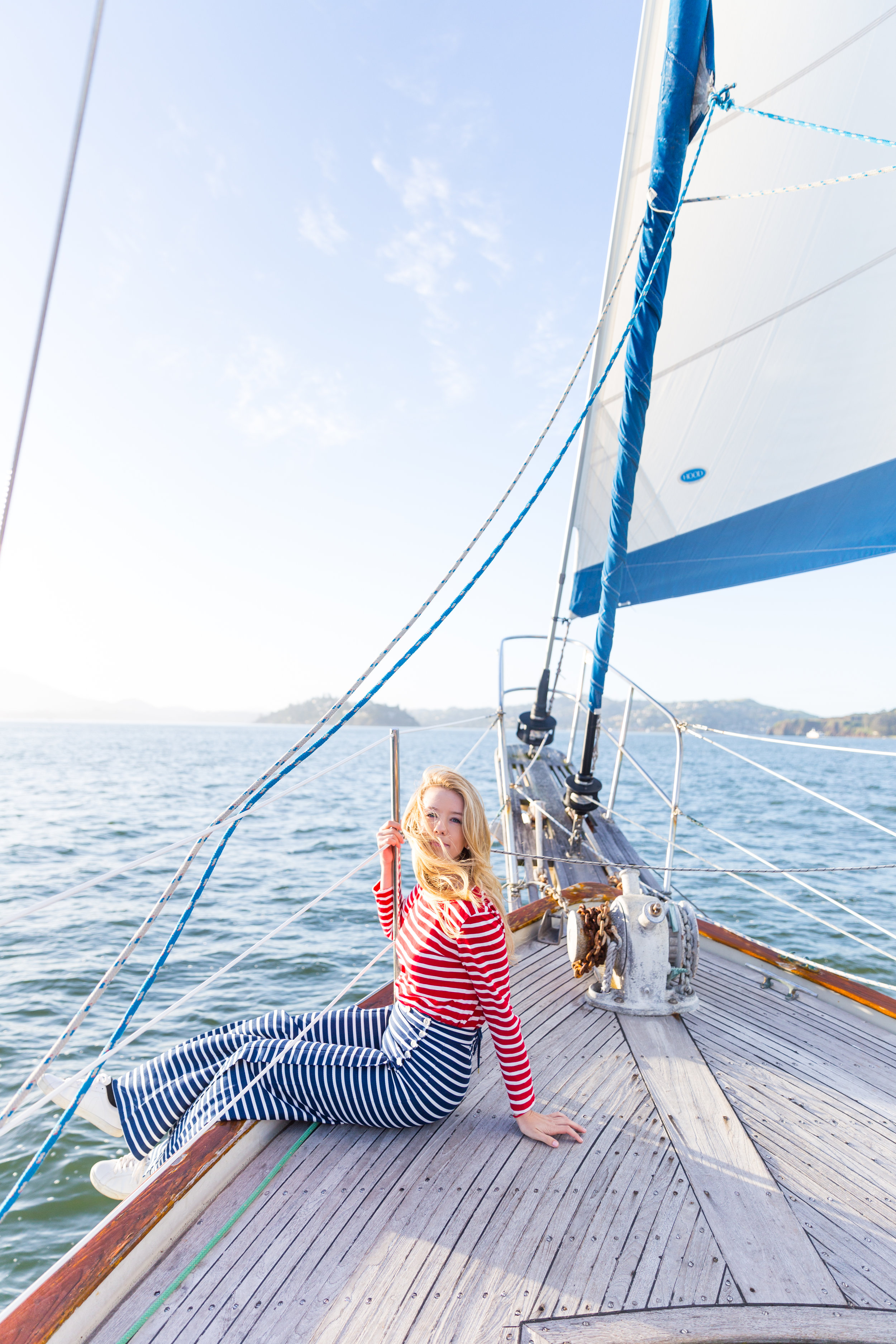 Striped Nautical Sunset Sail Outfit San Francisco-5.jpg