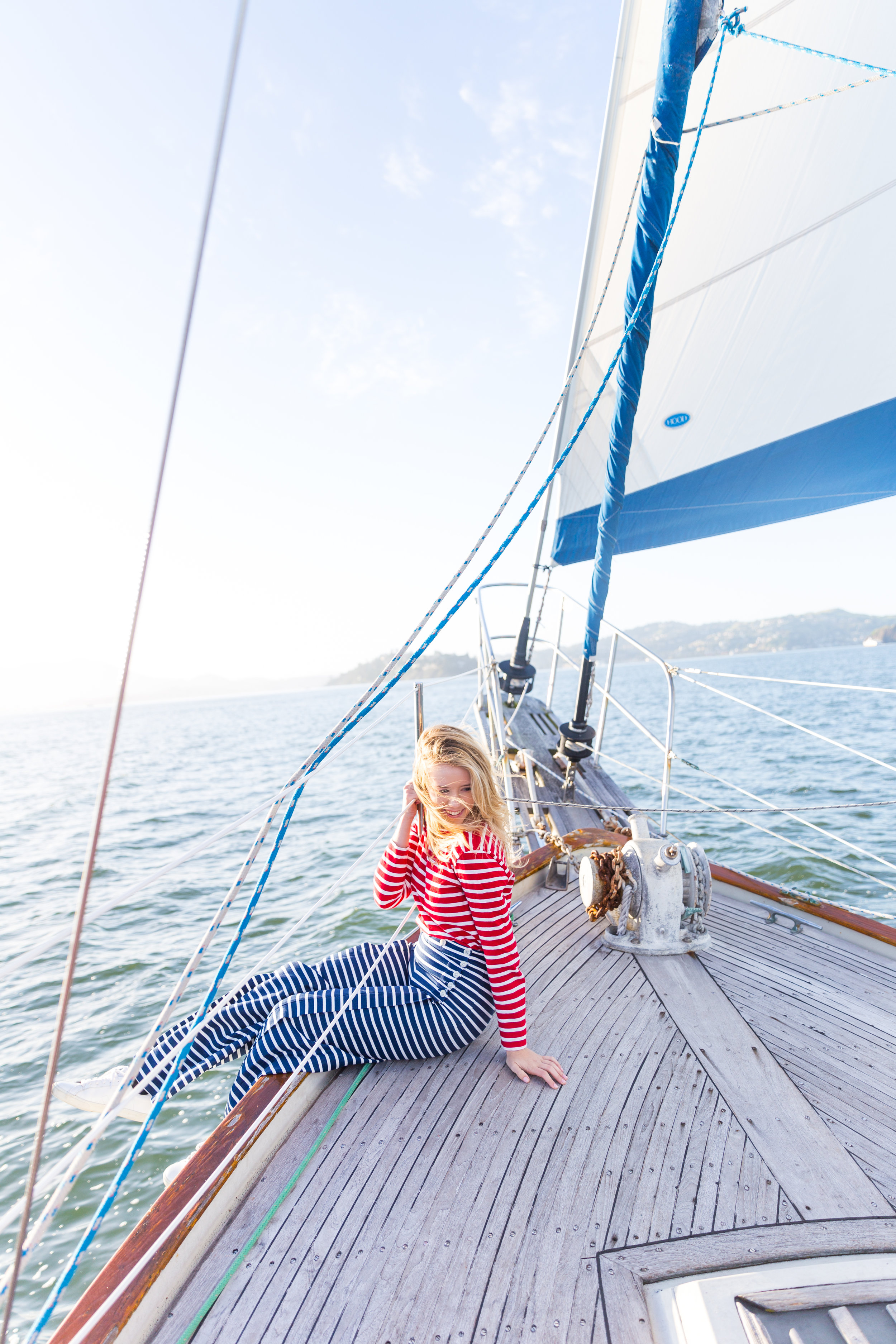 Striped Nautical Sunset Sail Outfit San Francisco-6.jpg
