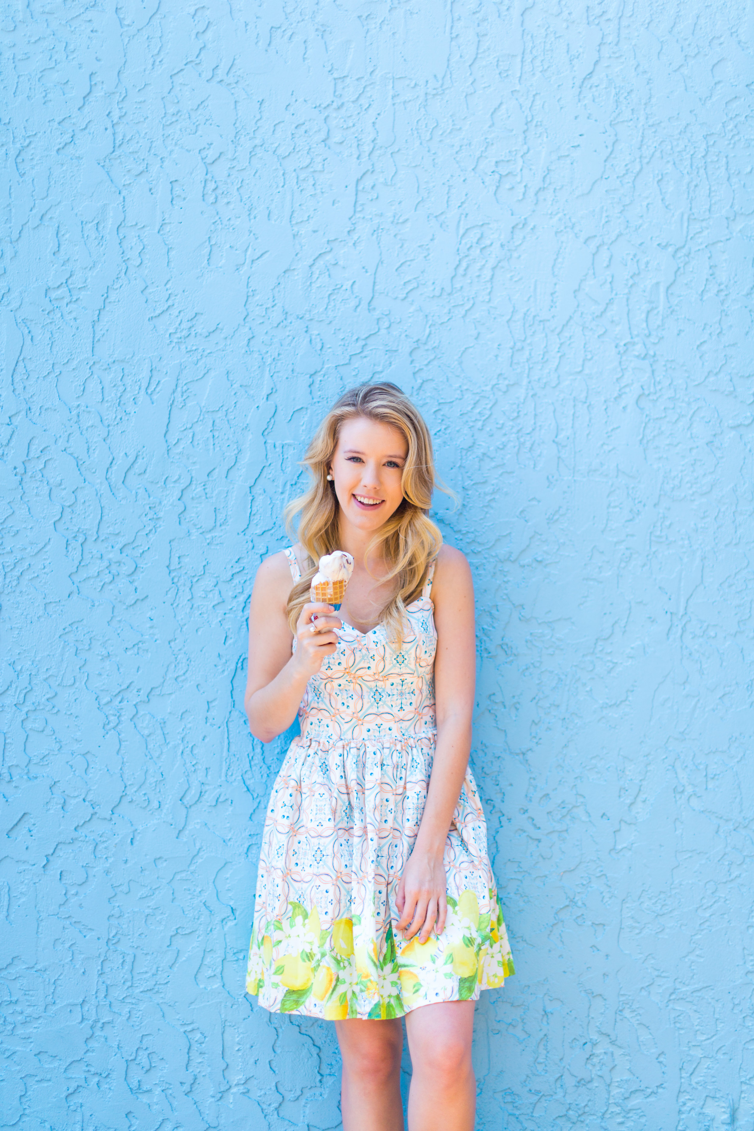 Lemon Tile Printed Summer Dress Florida-12.jpg