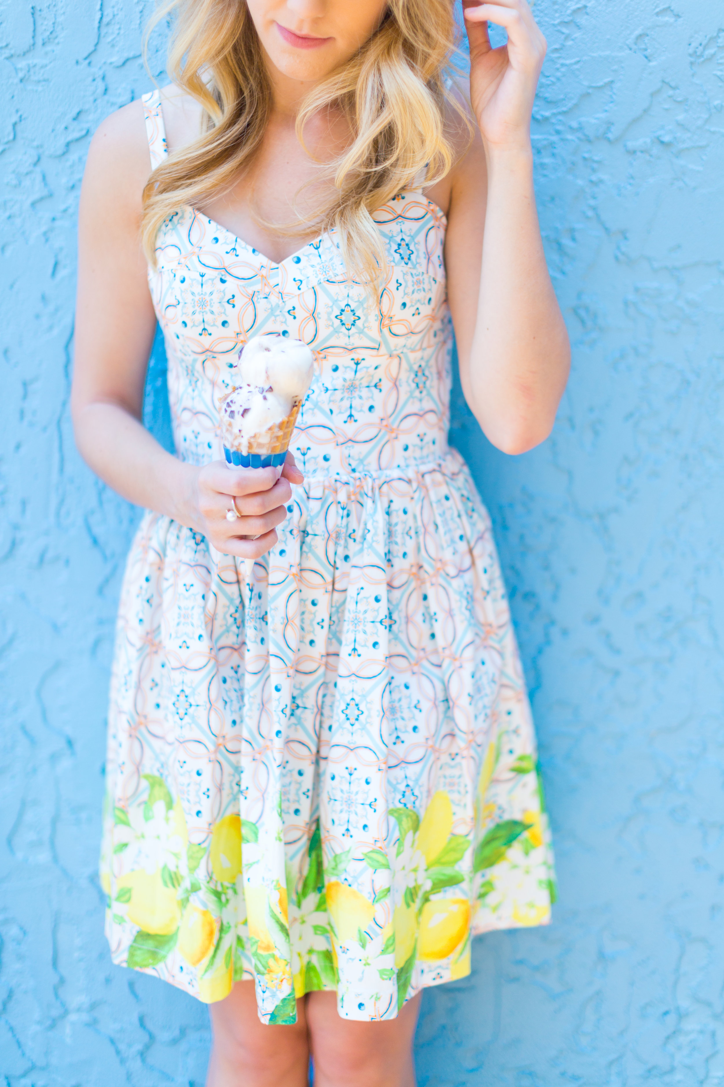Lemon Tile Printed Summer Dress Florida-18.jpg