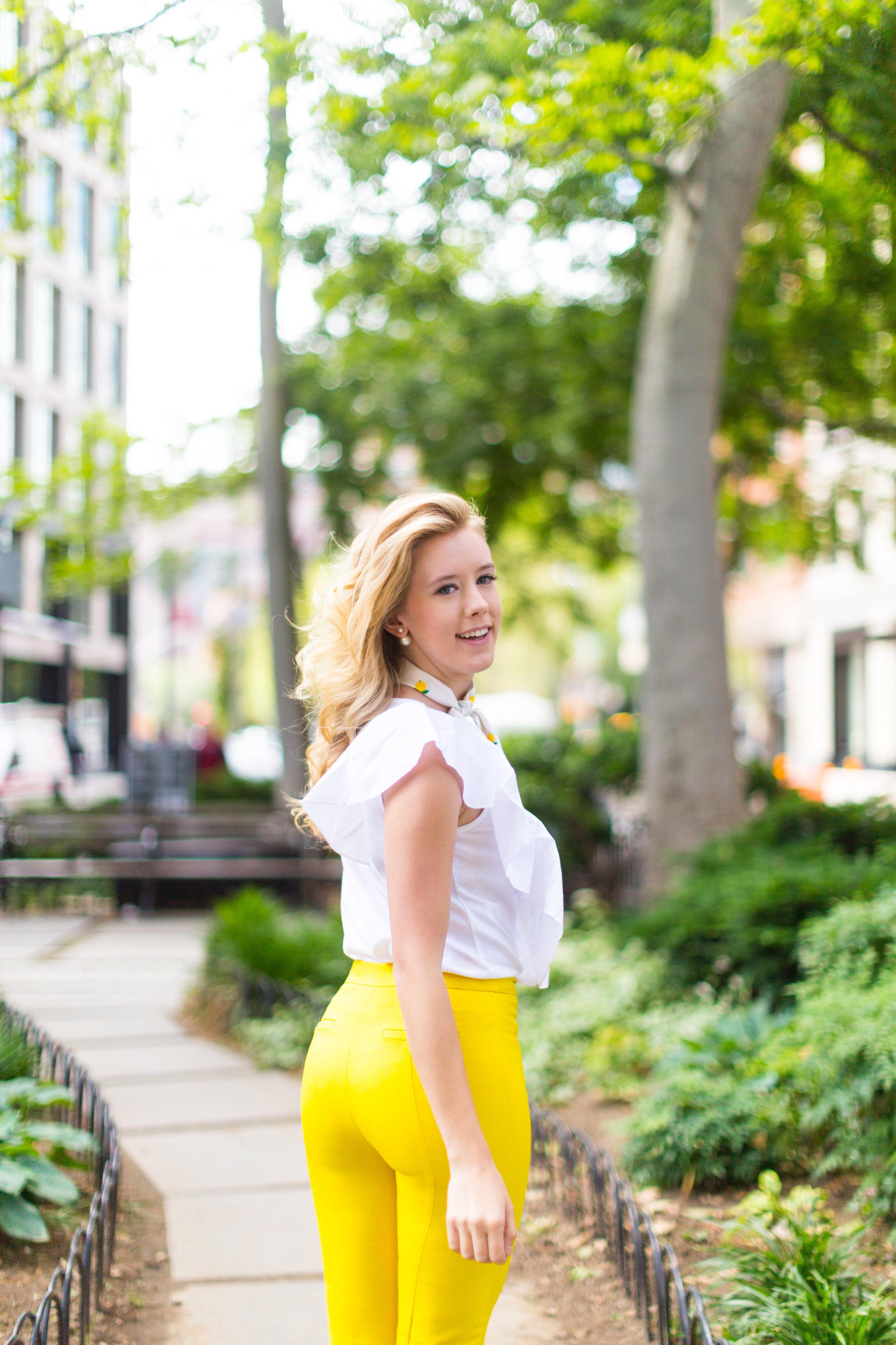 NYC Summer Yellow Lemon Print Outfit-7.jpg