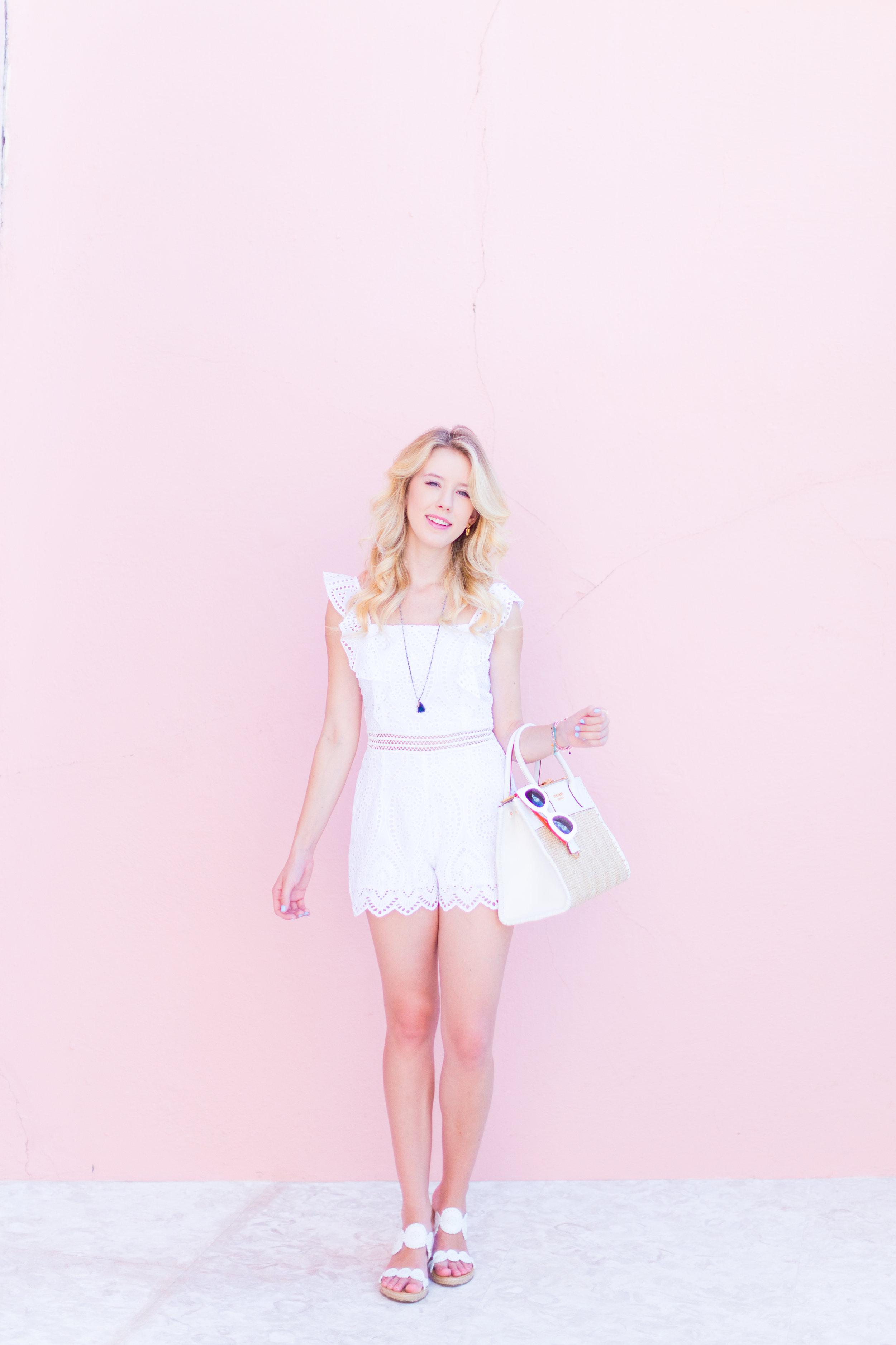 Summer Labor Day Fashion White Lace Romper Bermuda-7.jpg