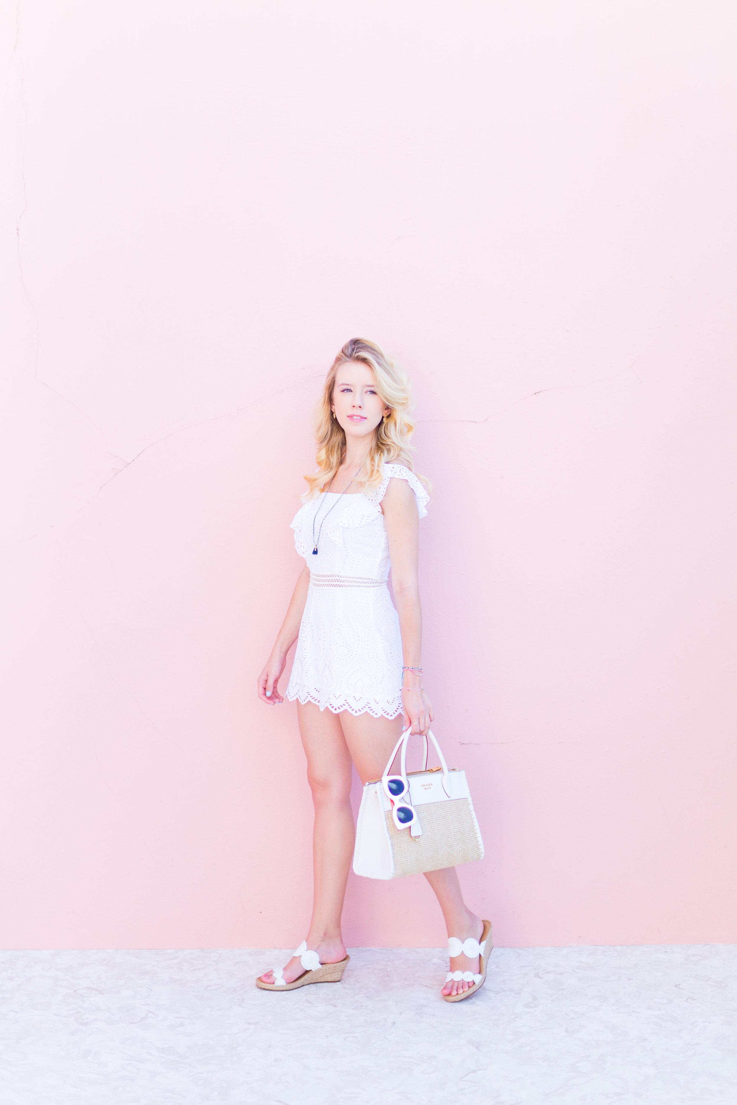 Summer Labor Day Fashion White Lace Romper Bermuda-8.jpg