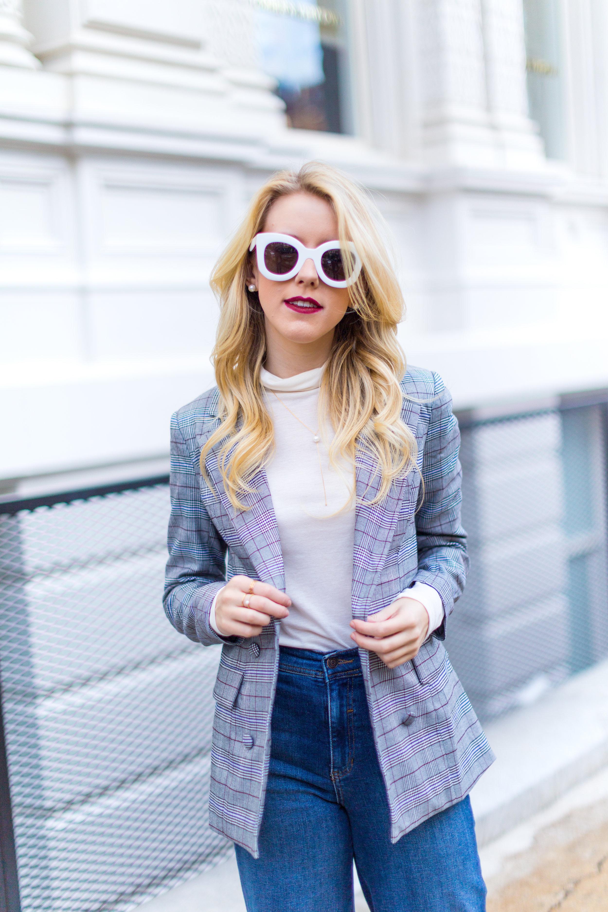 NYC Fall Fashion Trends Plaid Blazer-3.jpg
