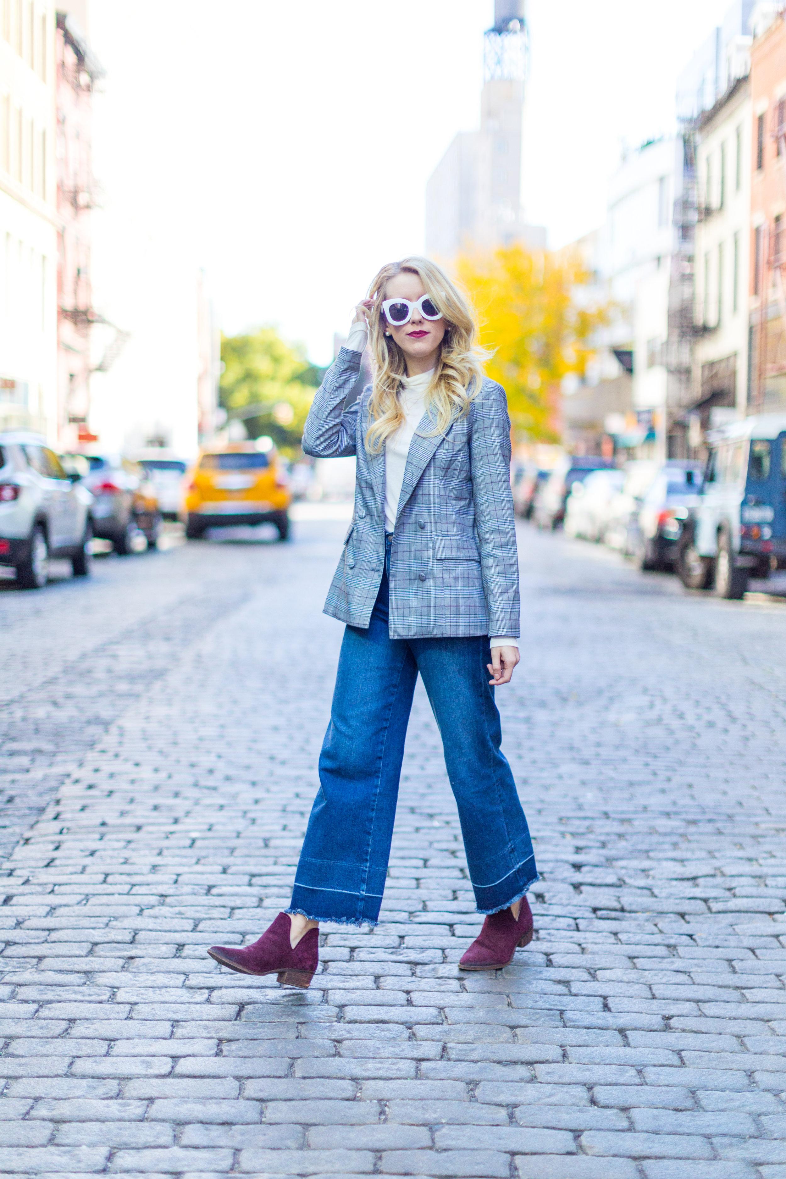 NYC Fall Fashion Trends Plaid Blazer-5.jpg
