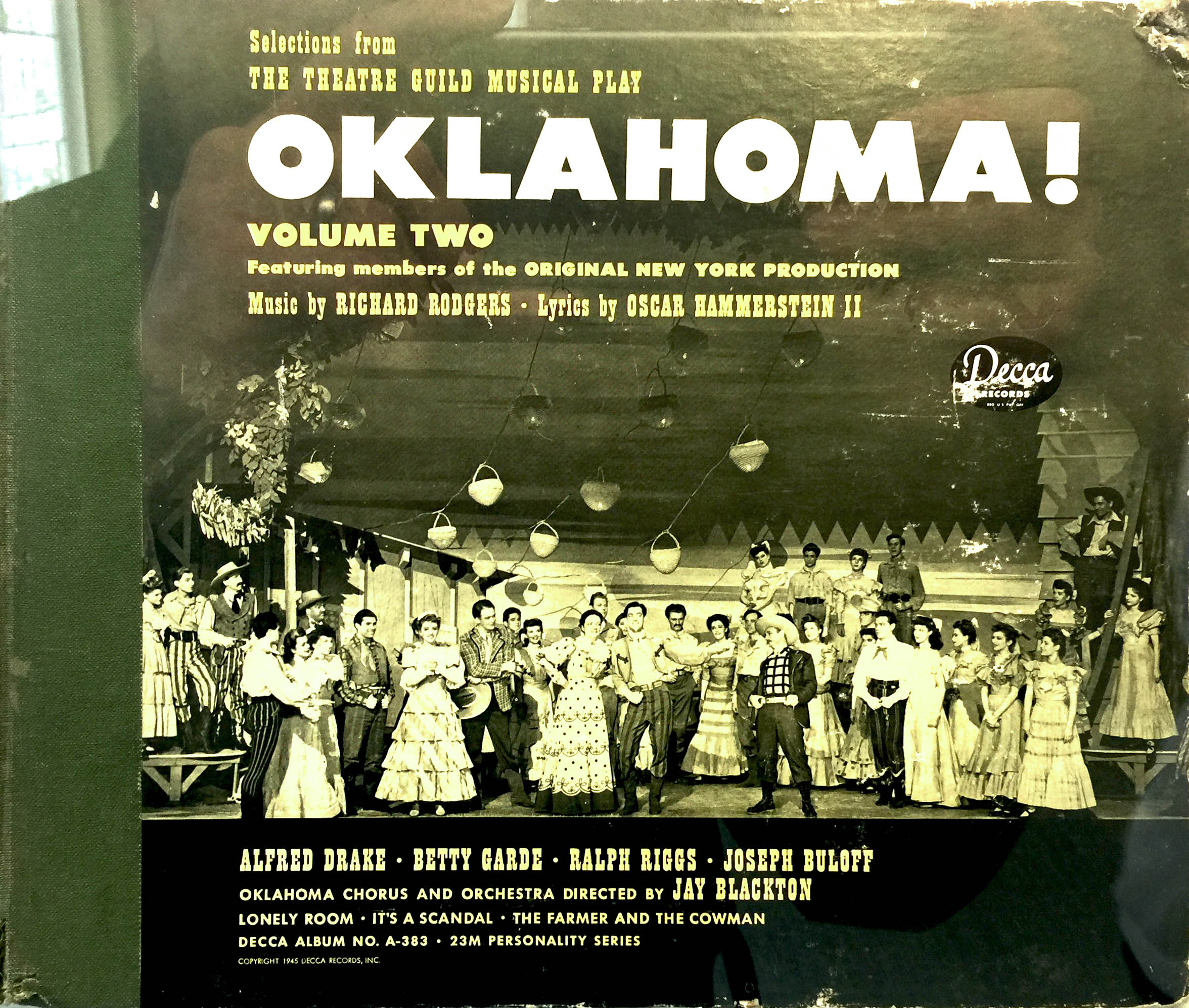 I found this vinyl record album this past week. Pretty cool! The farmer and the cowmanshould be friends!