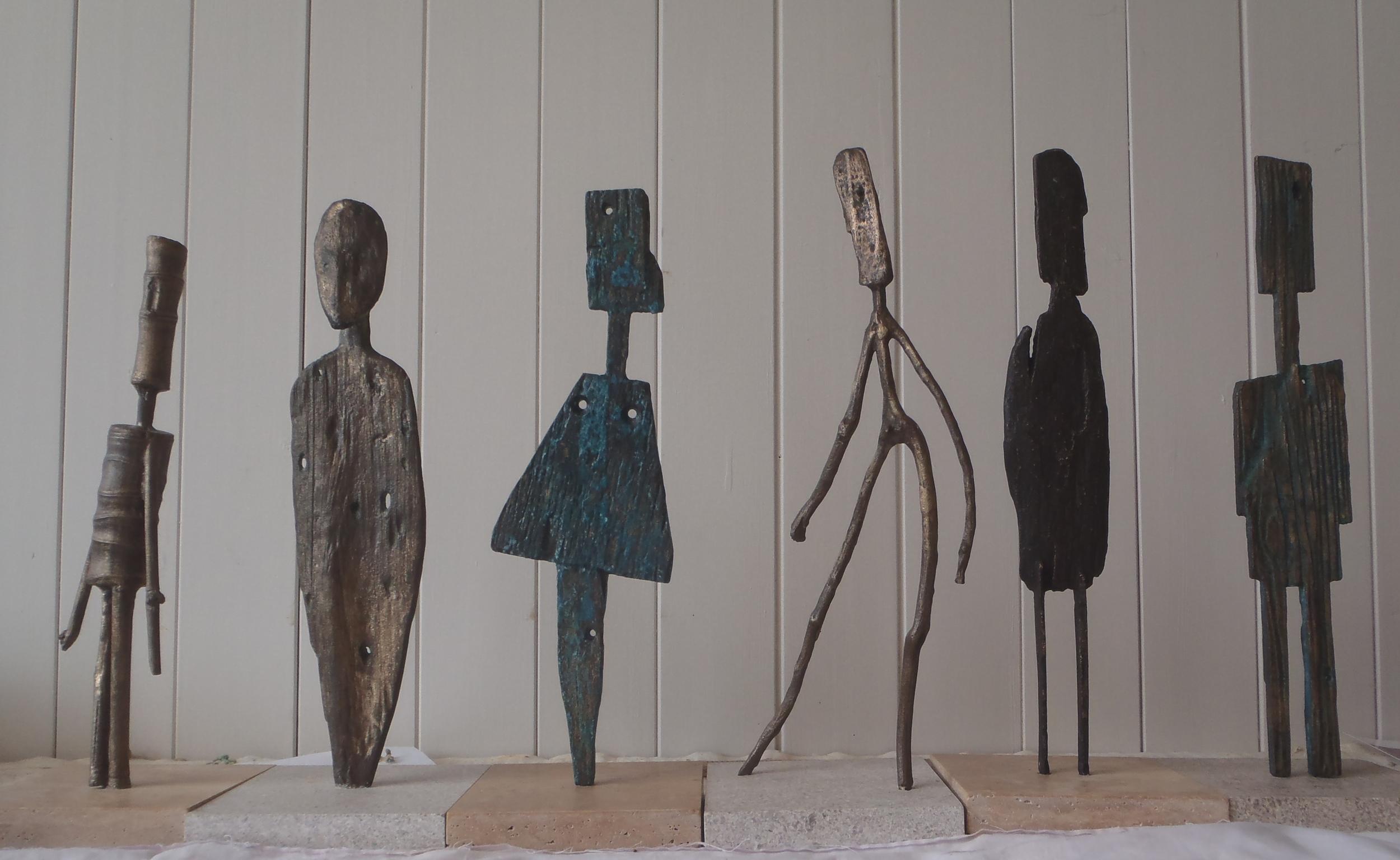 Bronze Waiheke Driftwood Figures