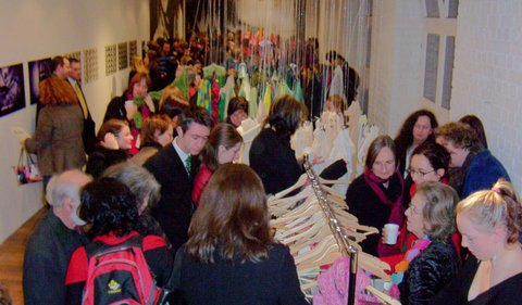 Image from Scarf Festival, Craft Victoria, 2004.
