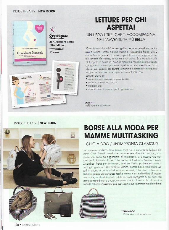 Milano Moms -n. 22 Settembre-Ottobre  pag. 28