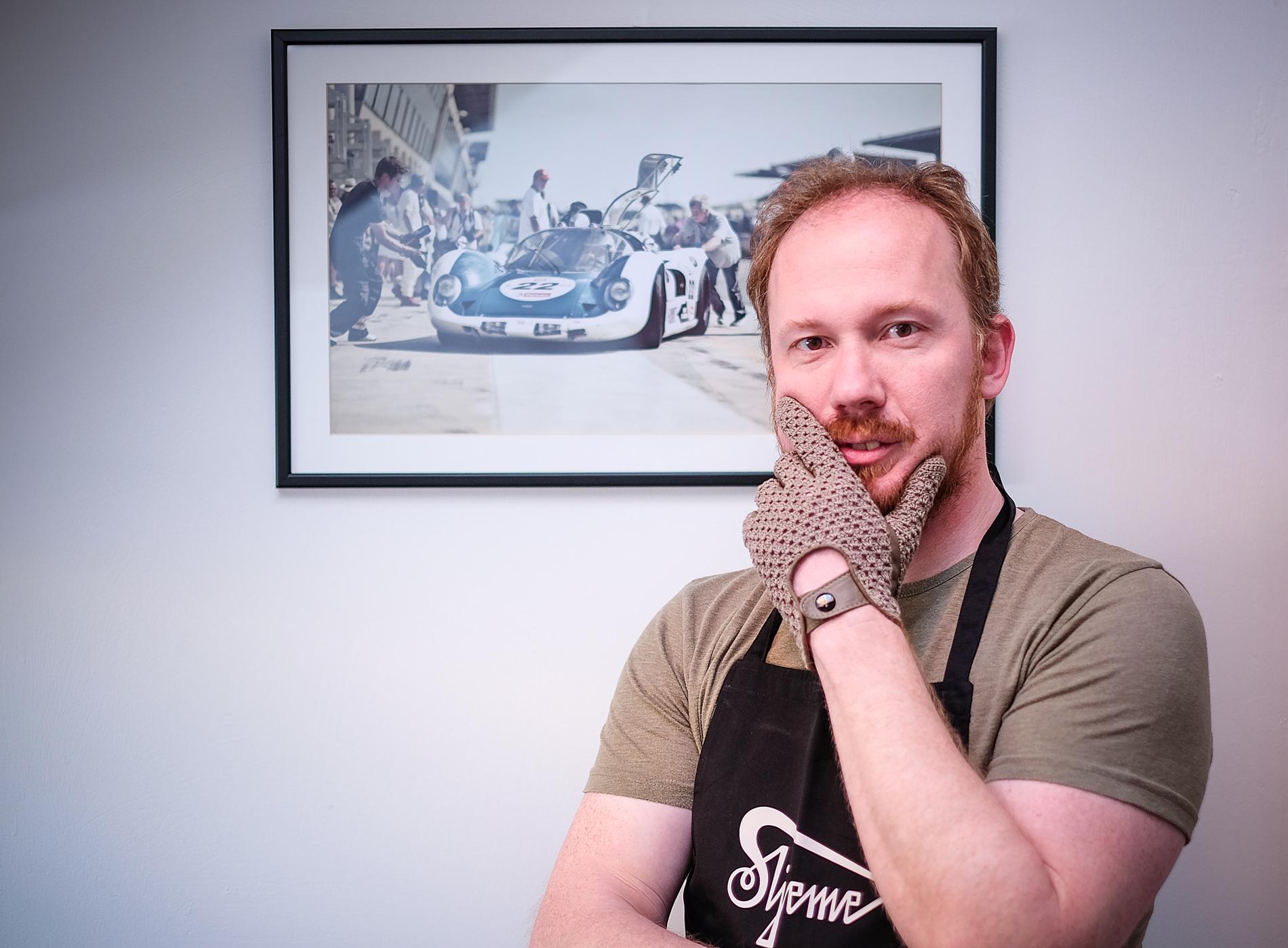 Daniel Tomičić glavom, bradom i Majstorovom rukavicom ;)