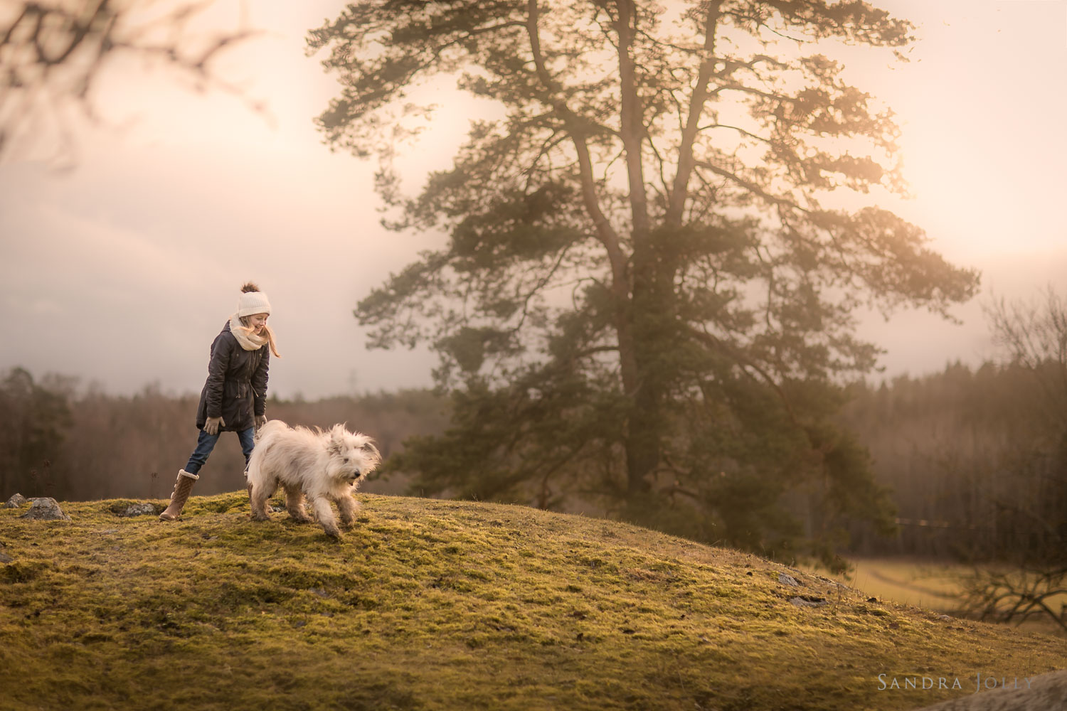 Photo-of-a-girl-and-her-dog-on-a-hill-by-Sandra-Jolly.jpg