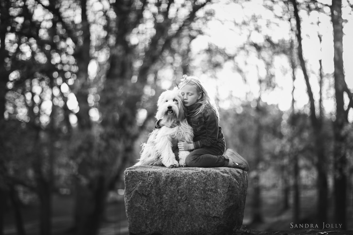 girl-and-dog-on-a-rock-by-stockholm-family-photographer-sandra-jolly.jpg