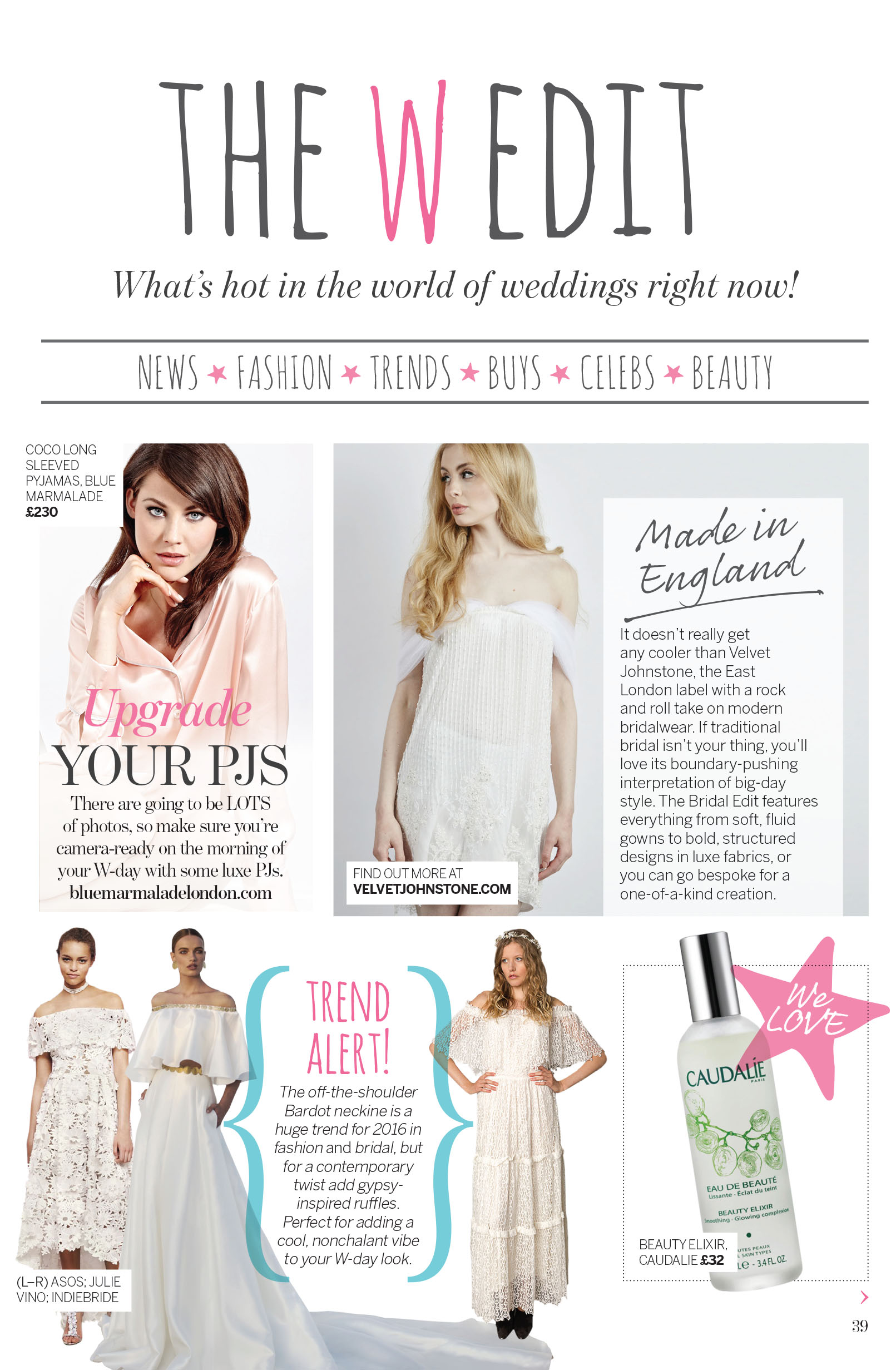 vj in perfect wedding magazine issue 120