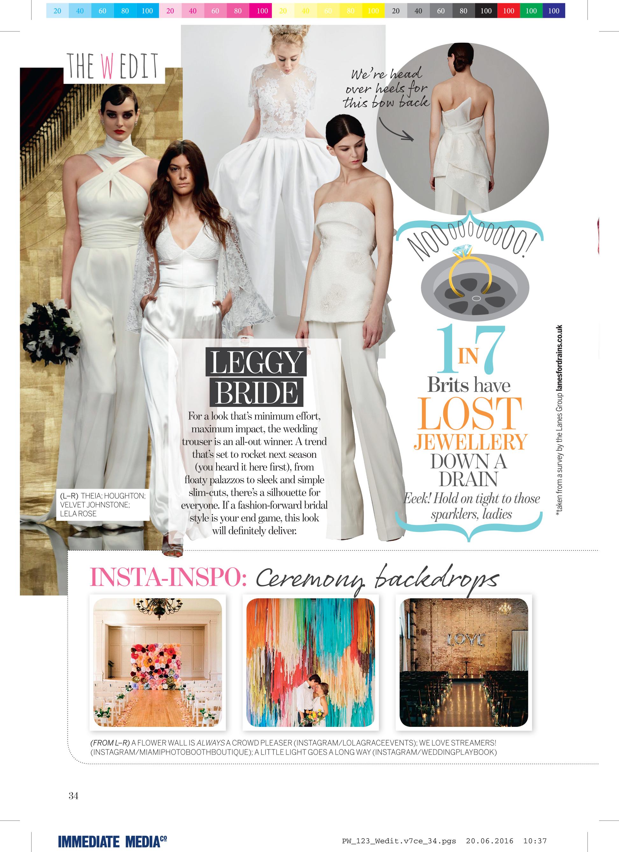 issy mae in perfect wedding magazine