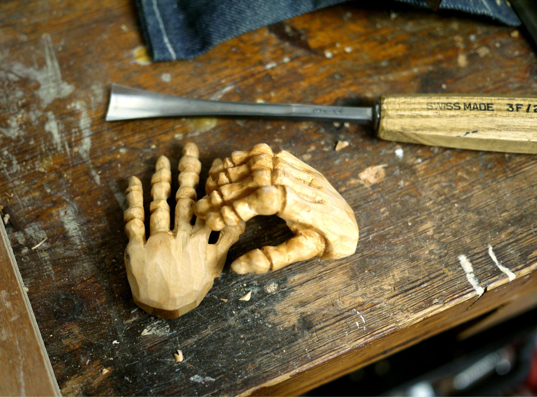 Bony Skeleton hands