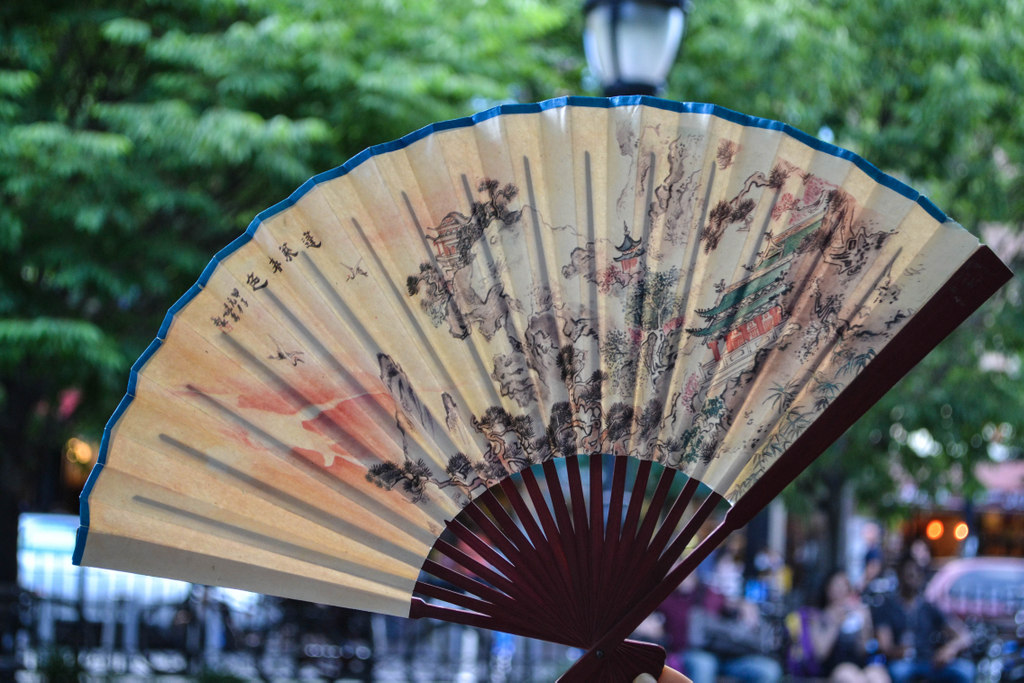 Pearl River sells hand fans and dozens of other unique accessories that will turn heads.