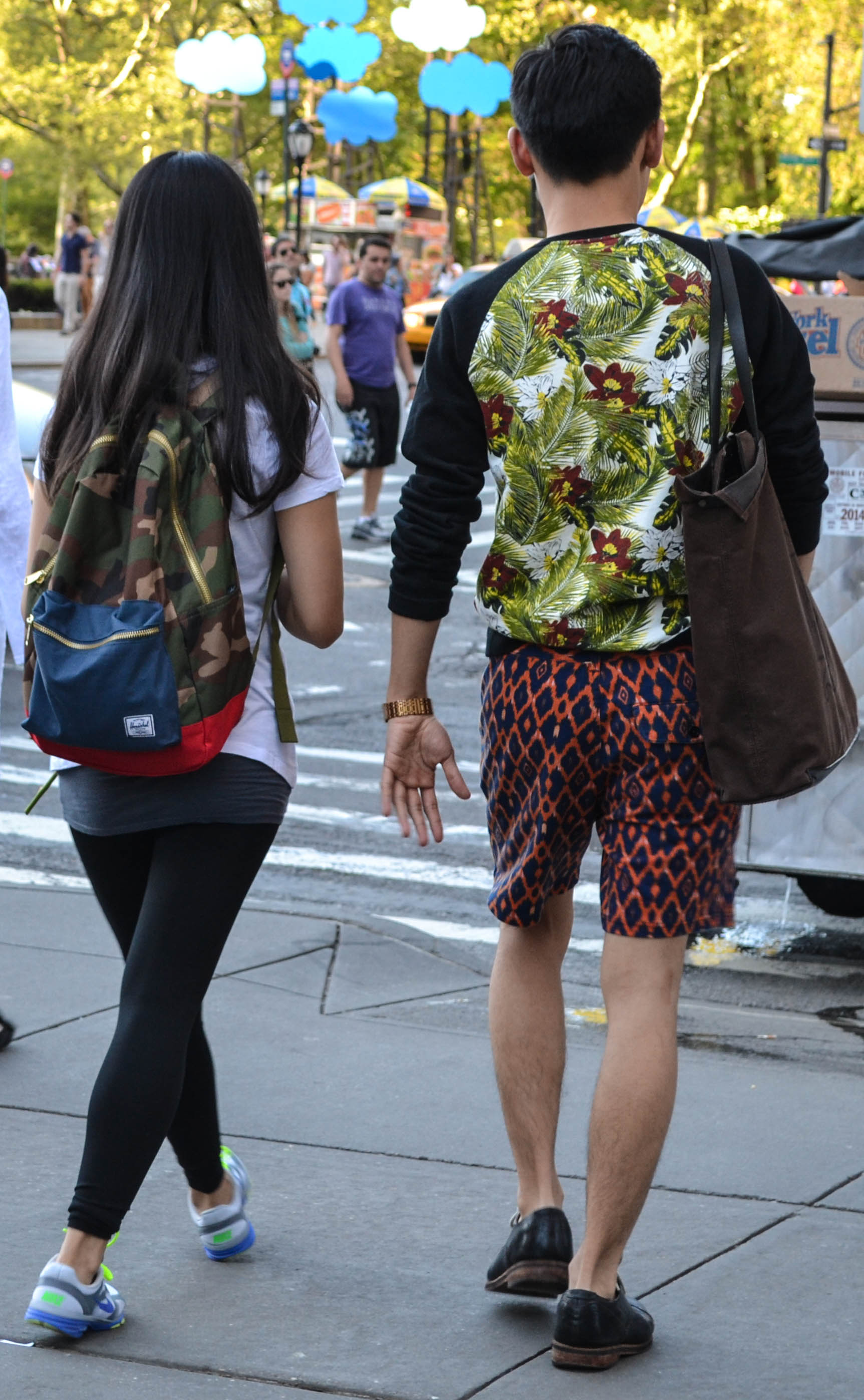Bold Prints on 5th Avenue