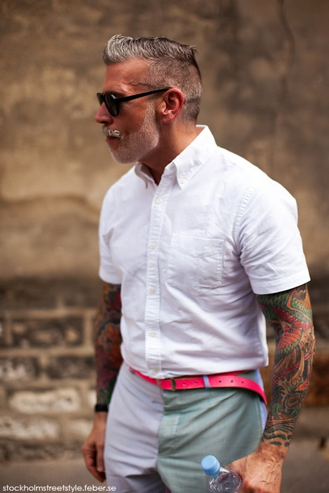 Nick Wooster know´s how to do it.