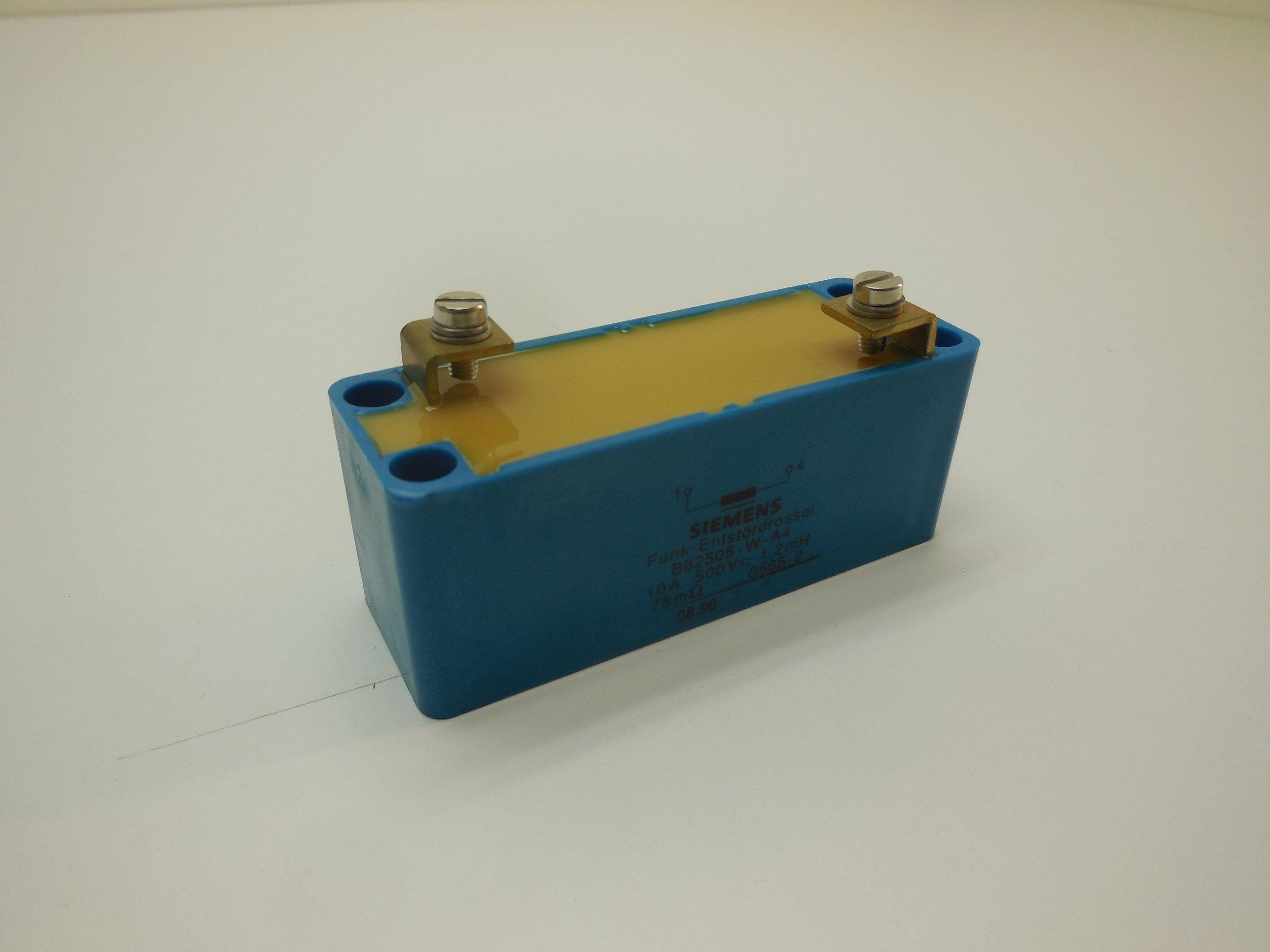 Choke coil   Siemens Nr: B82505-W-A4 Price: 130 Sek