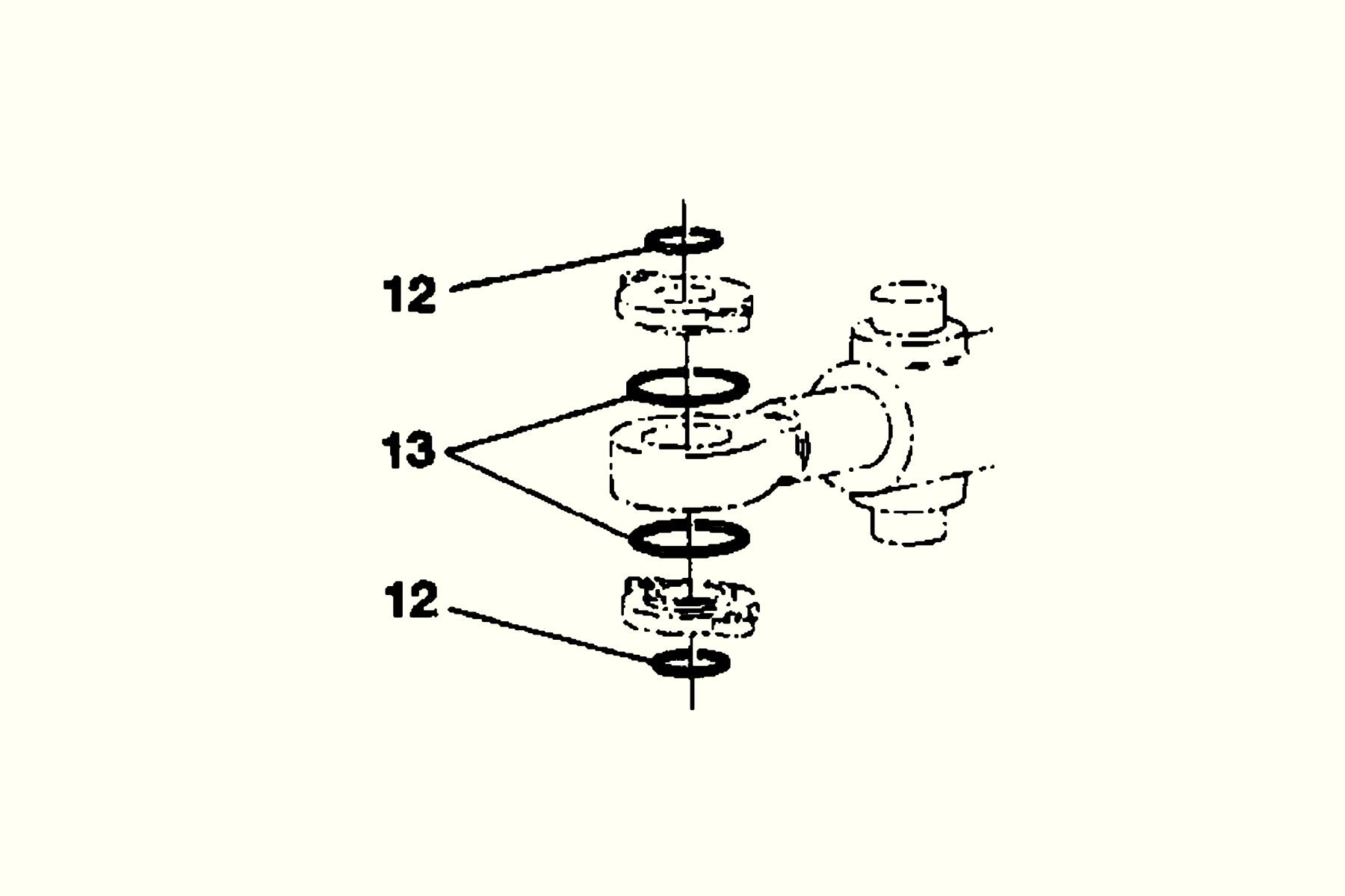 Steering cylinder Front Sealing kit Häggo Nr: 153 6174-807 Price: 258 SEK