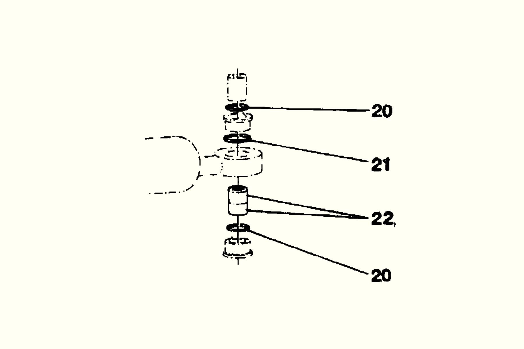 Damping and tilt cylinder end  Repair kit Häggo Nr: 153 6174-806 Price: 373 SEK