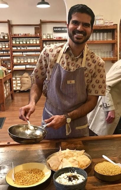 PANKAJ KUMAR is a bread baker and cook from India, living in Oakland, California. He grew up in a family of Ayurvedic healers, in a culture that believed that food is sacred, a blessing and a gift and that the simple acts of cutting, chopping, and stirring are graces that can bring one peace and calm. Pankaj has pursued his passion for baking, cooking and serving good food in the kitchens of Cheese Board Pizza and Three Stone Hearth in Berkeley and at Arizmendi Bakery in San Francisco. In a previous life, he worked as an MIT–trained urban planner and environmental consultant. www.pankajcooks.com