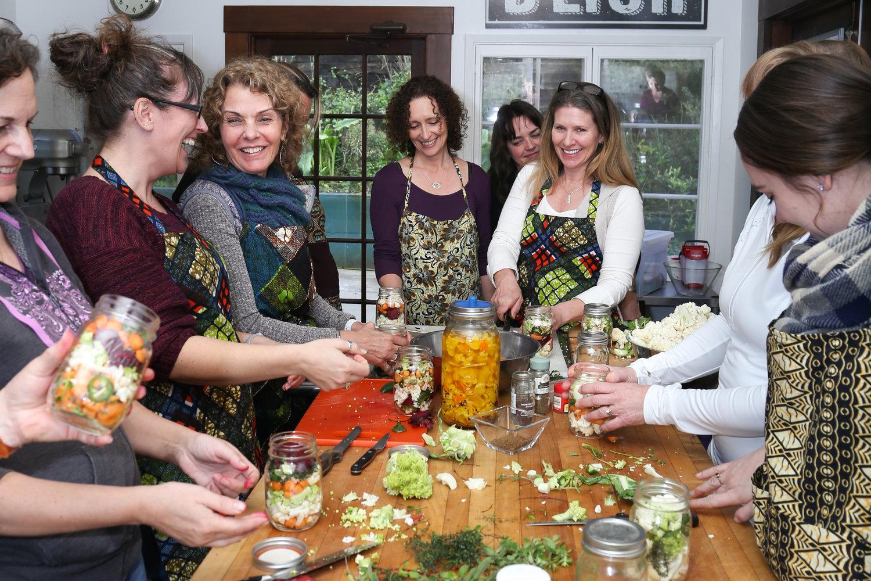 Fun fermenting vegetables