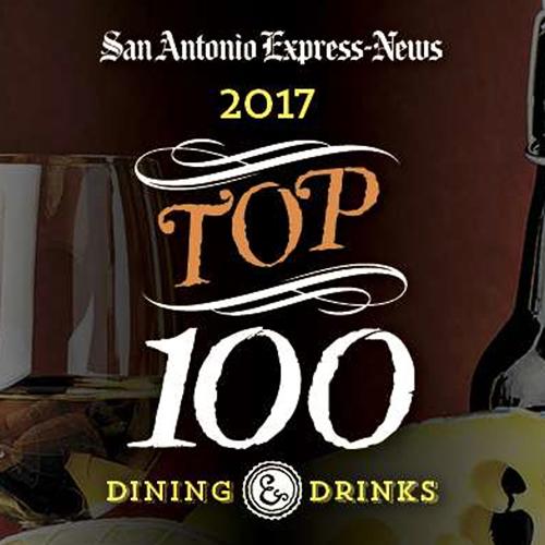 San Antonio Express News Names Aldo's in the Top 100 Restaurants